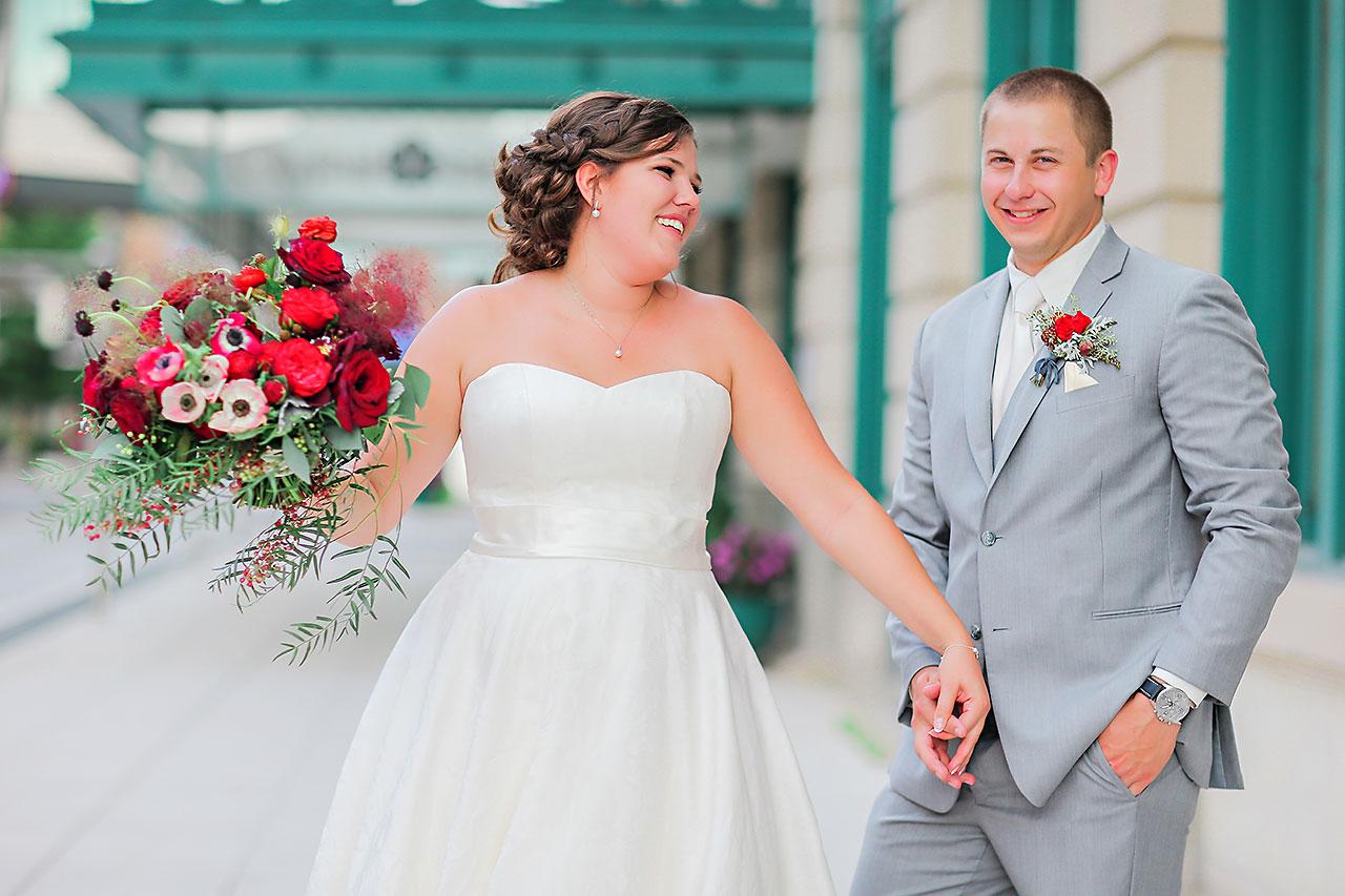 Diana Nick Crowne Plaza Indianapolis Wedding 173