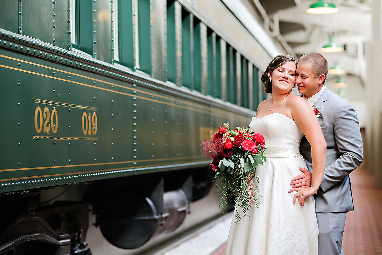 Diana Nick Crowne Plaza Indianapolis Wedding 170