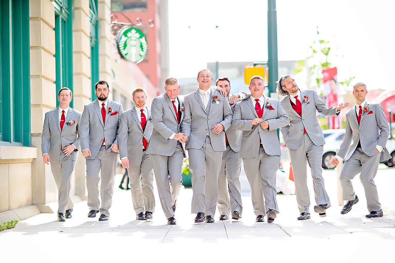 Diana Nick Crowne Plaza Indianapolis Wedding 171