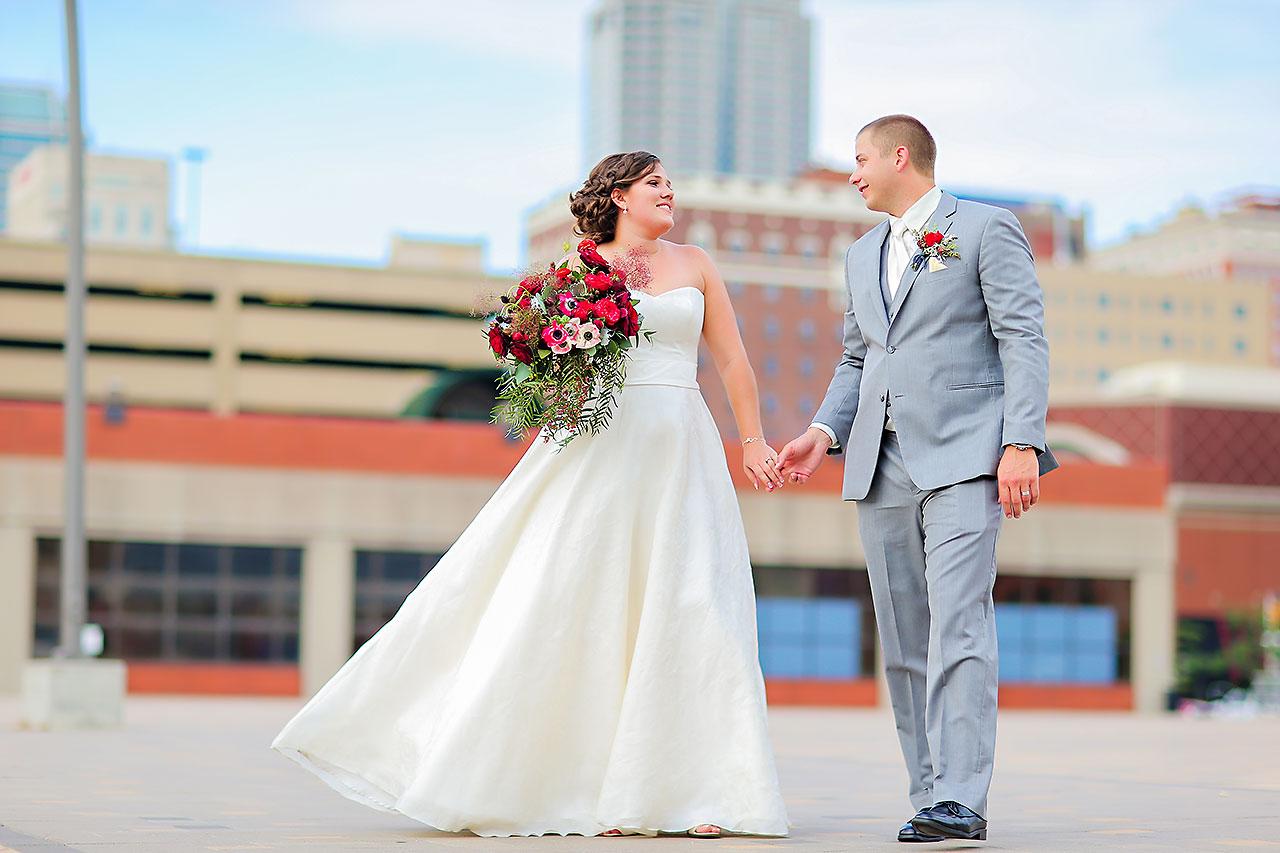 Diana Nick Crowne Plaza Indianapolis Wedding 168