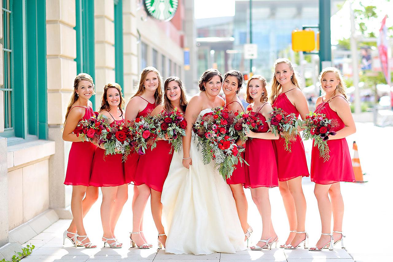 Diana Nick Crowne Plaza Indianapolis Wedding 169