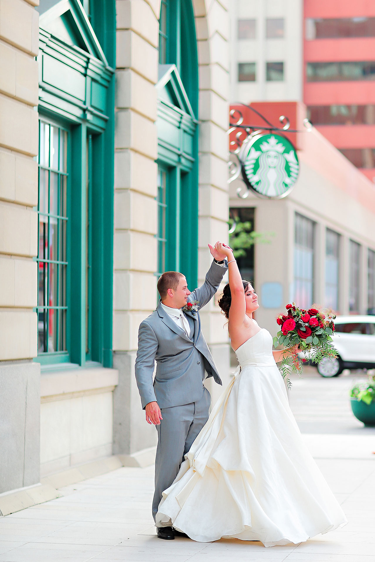 Diana Nick Crowne Plaza Indianapolis Wedding 166