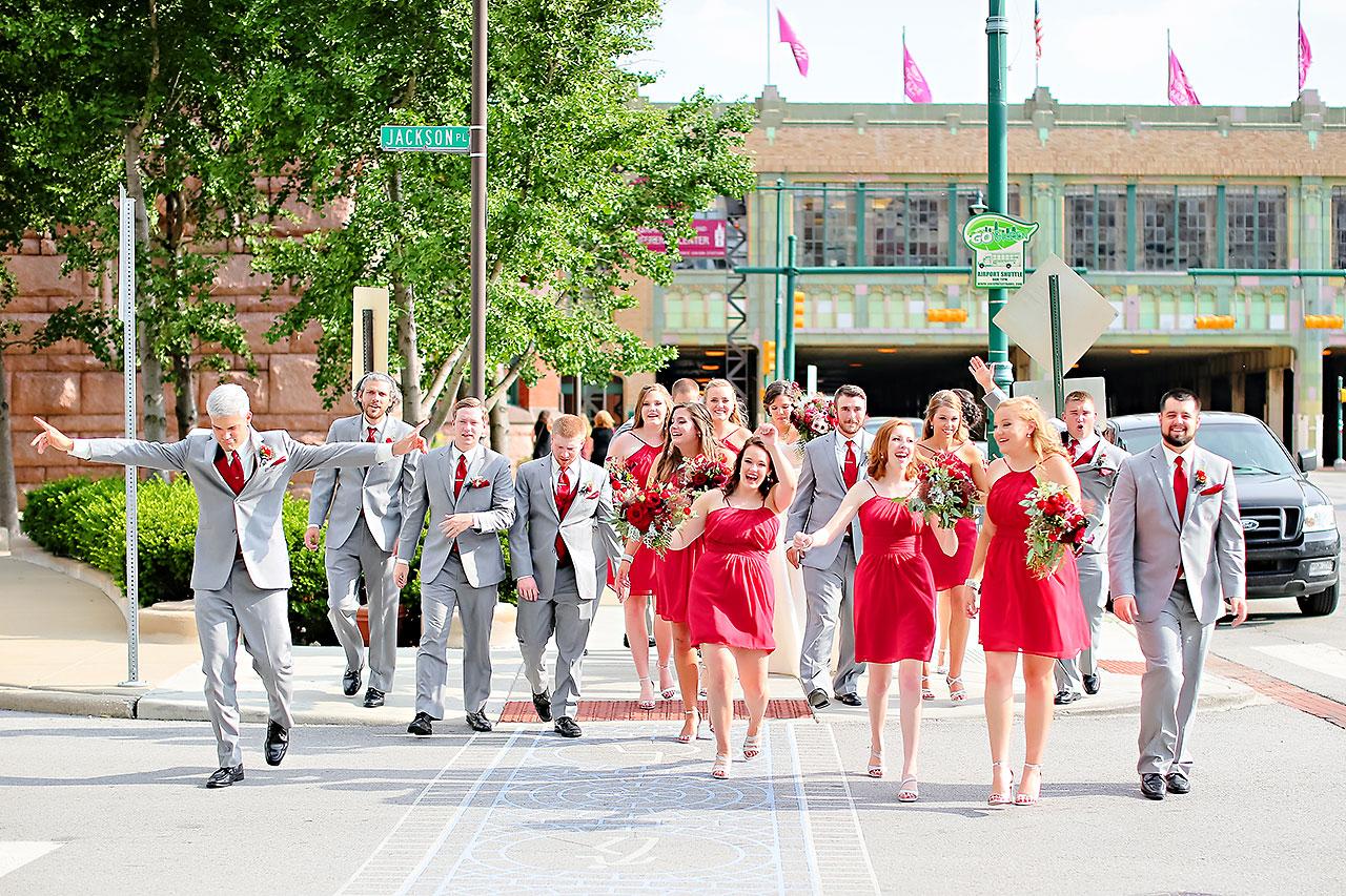 Diana Nick Crowne Plaza Indianapolis Wedding 167