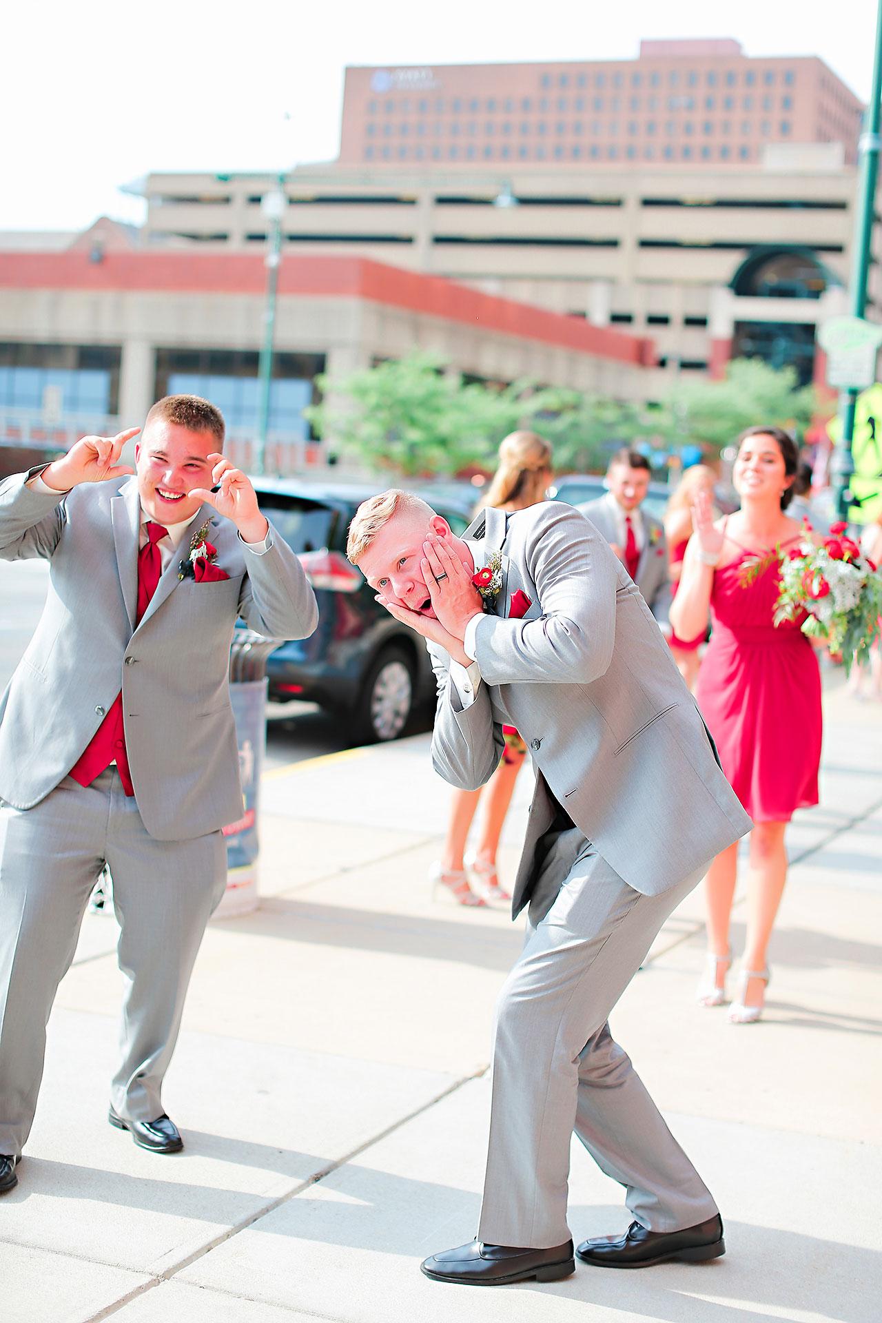 Diana Nick Crowne Plaza Indianapolis Wedding 164