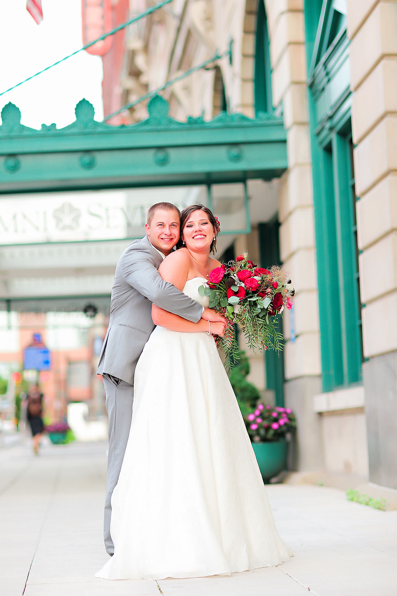 Diana Nick Crowne Plaza Indianapolis Wedding 165