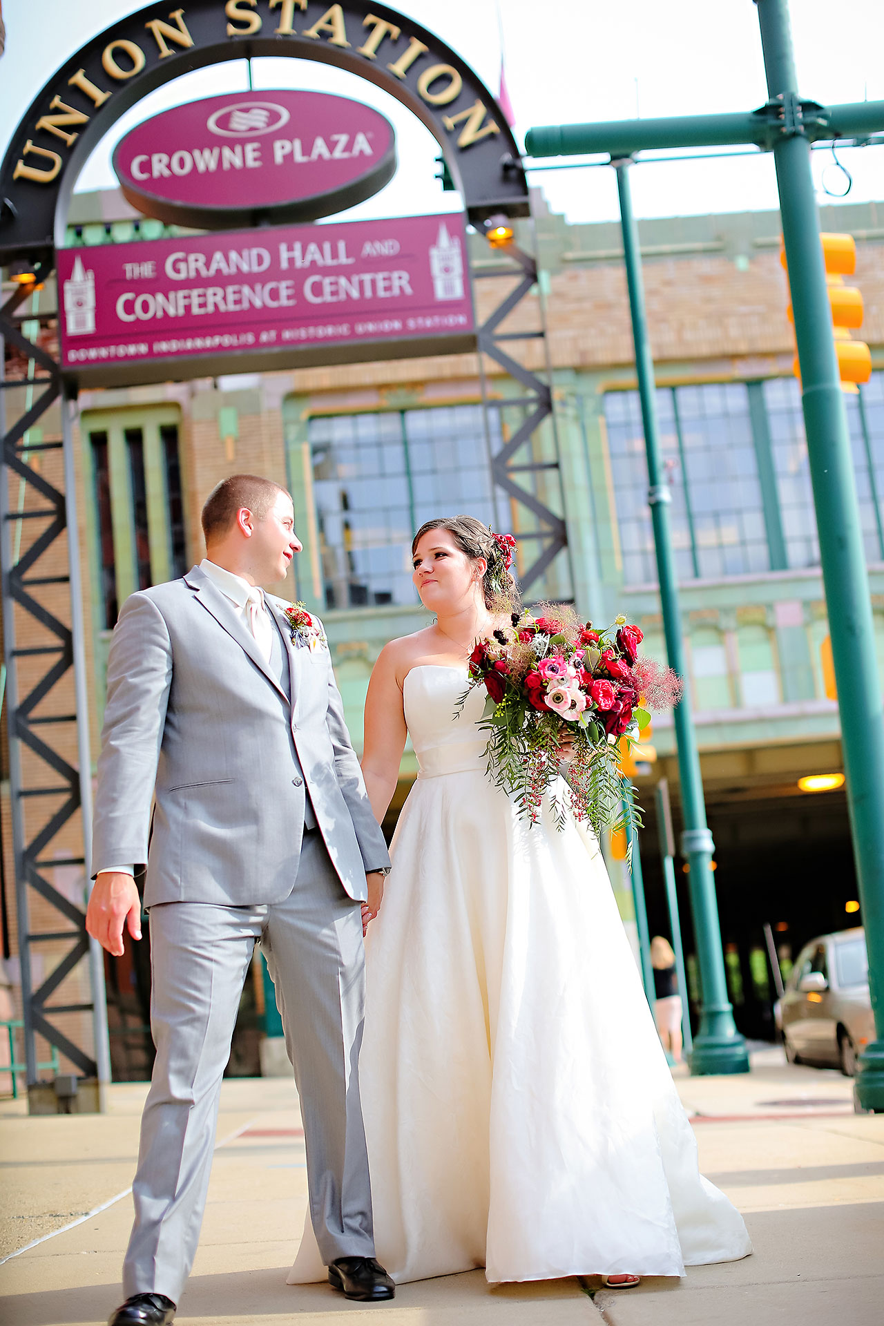 Diana Nick Crowne Plaza Indianapolis Wedding 161