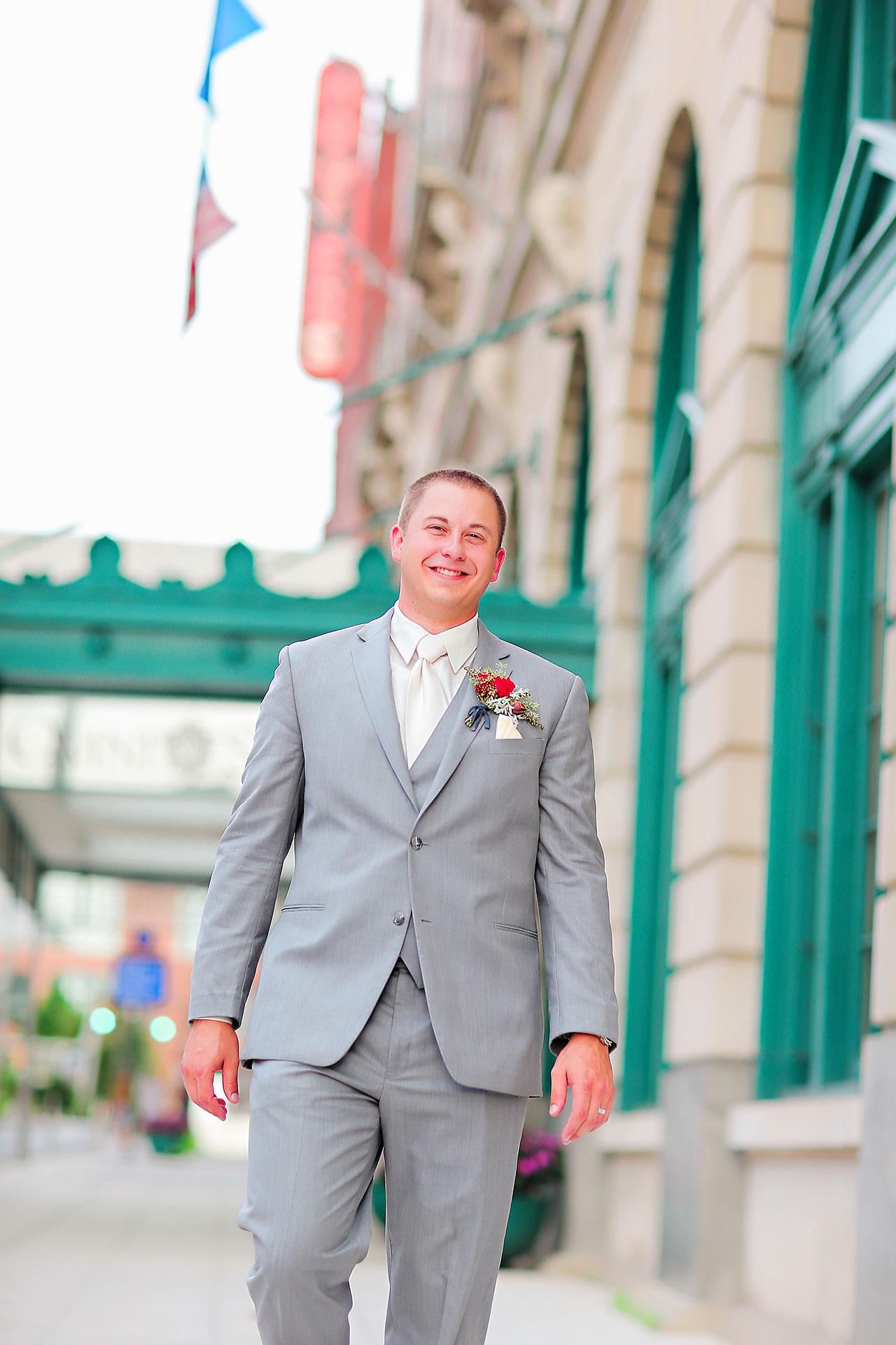 Diana Nick Crowne Plaza Indianapolis Wedding 162