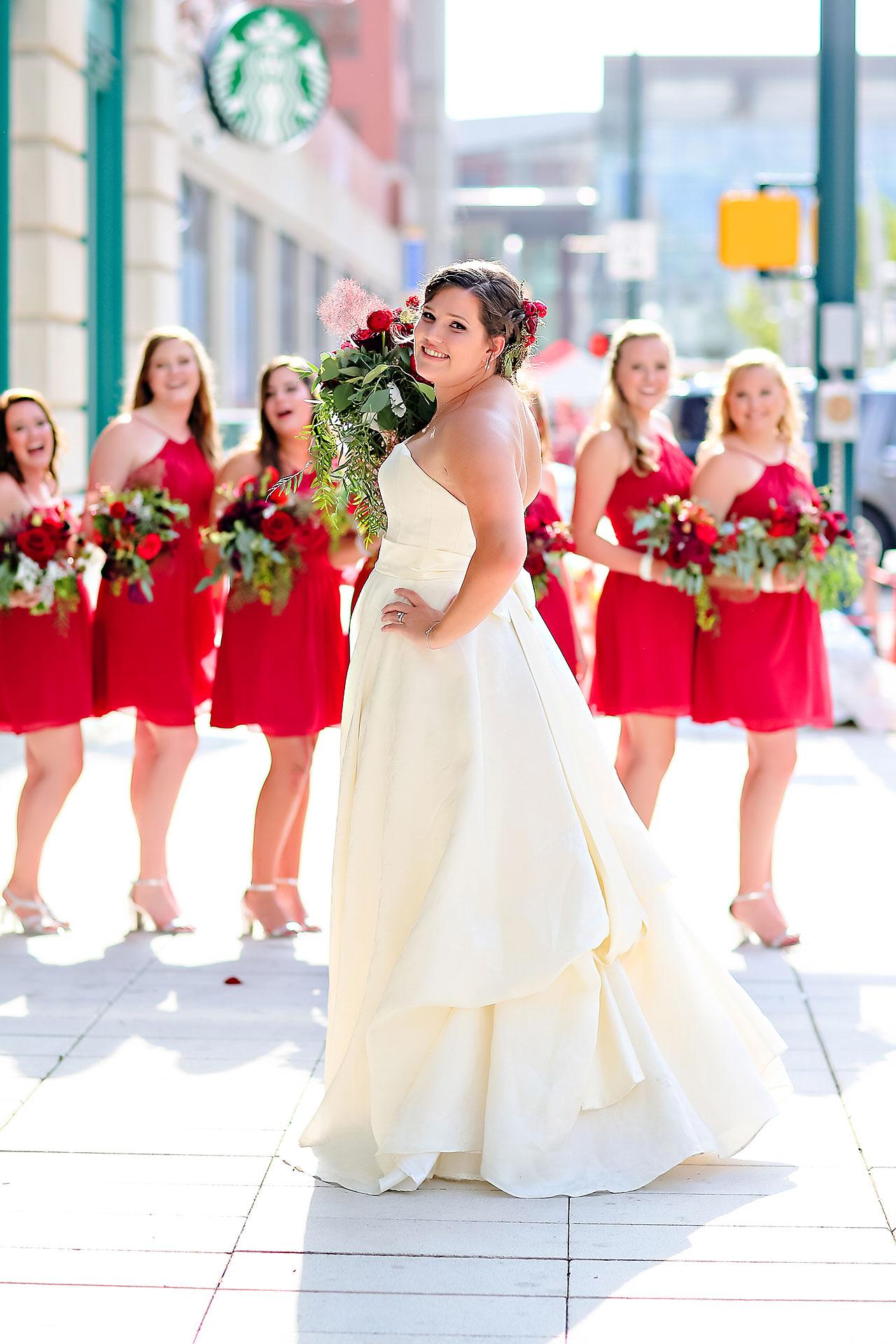 Diana Nick Crowne Plaza Indianapolis Wedding 163