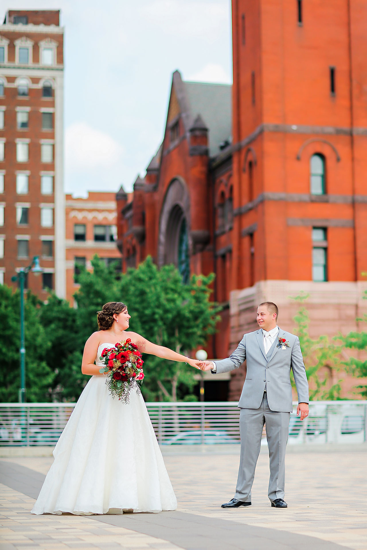 Diana Nick Crowne Plaza Indianapolis Wedding 159