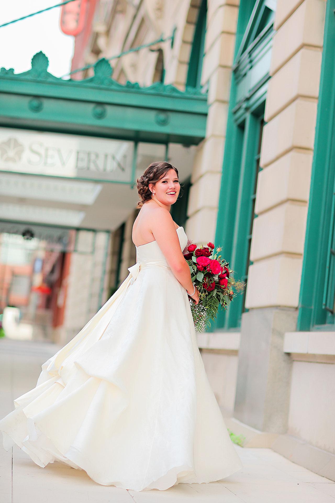 Diana Nick Crowne Plaza Indianapolis Wedding 160
