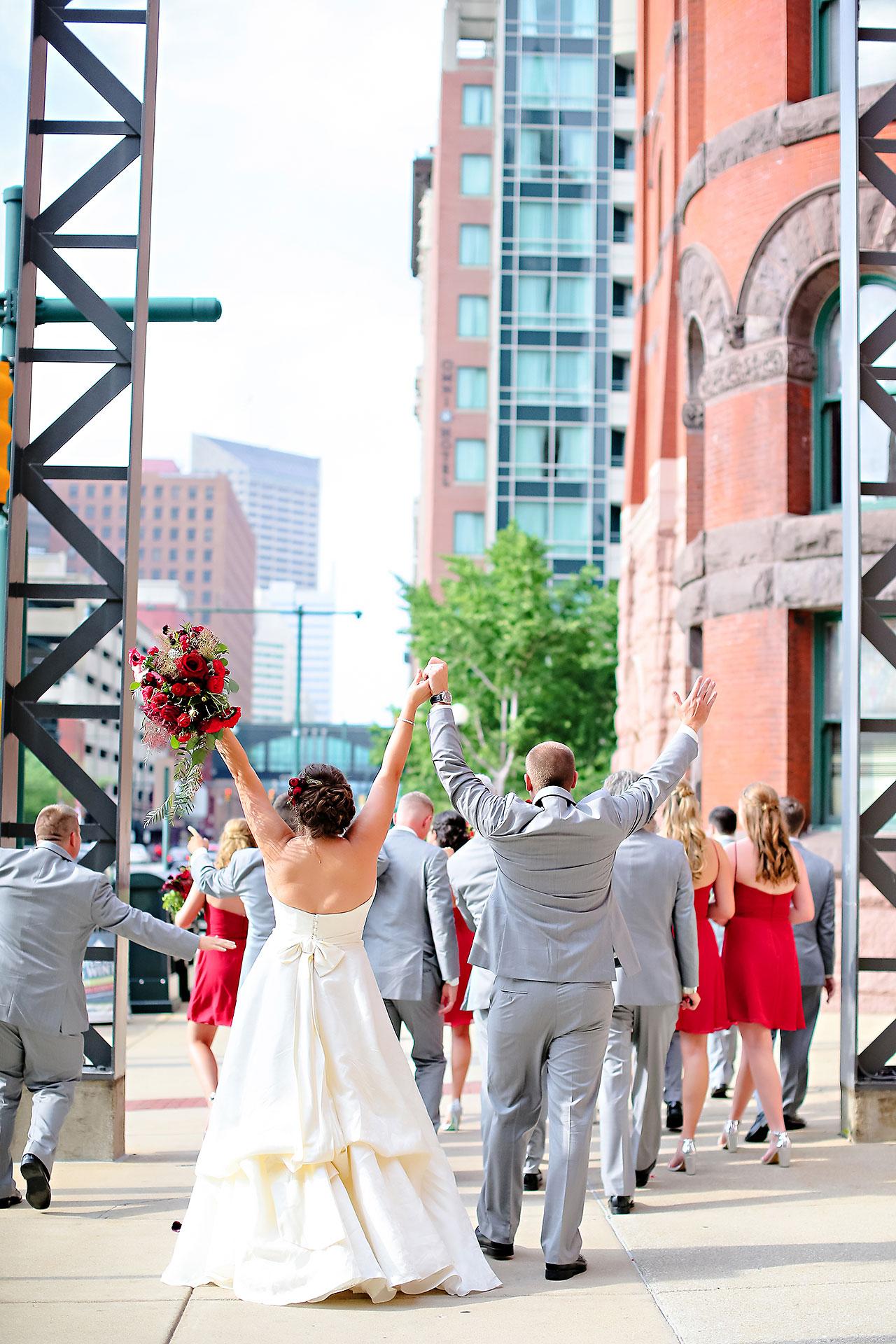 Diana Nick Crowne Plaza Indianapolis Wedding 156