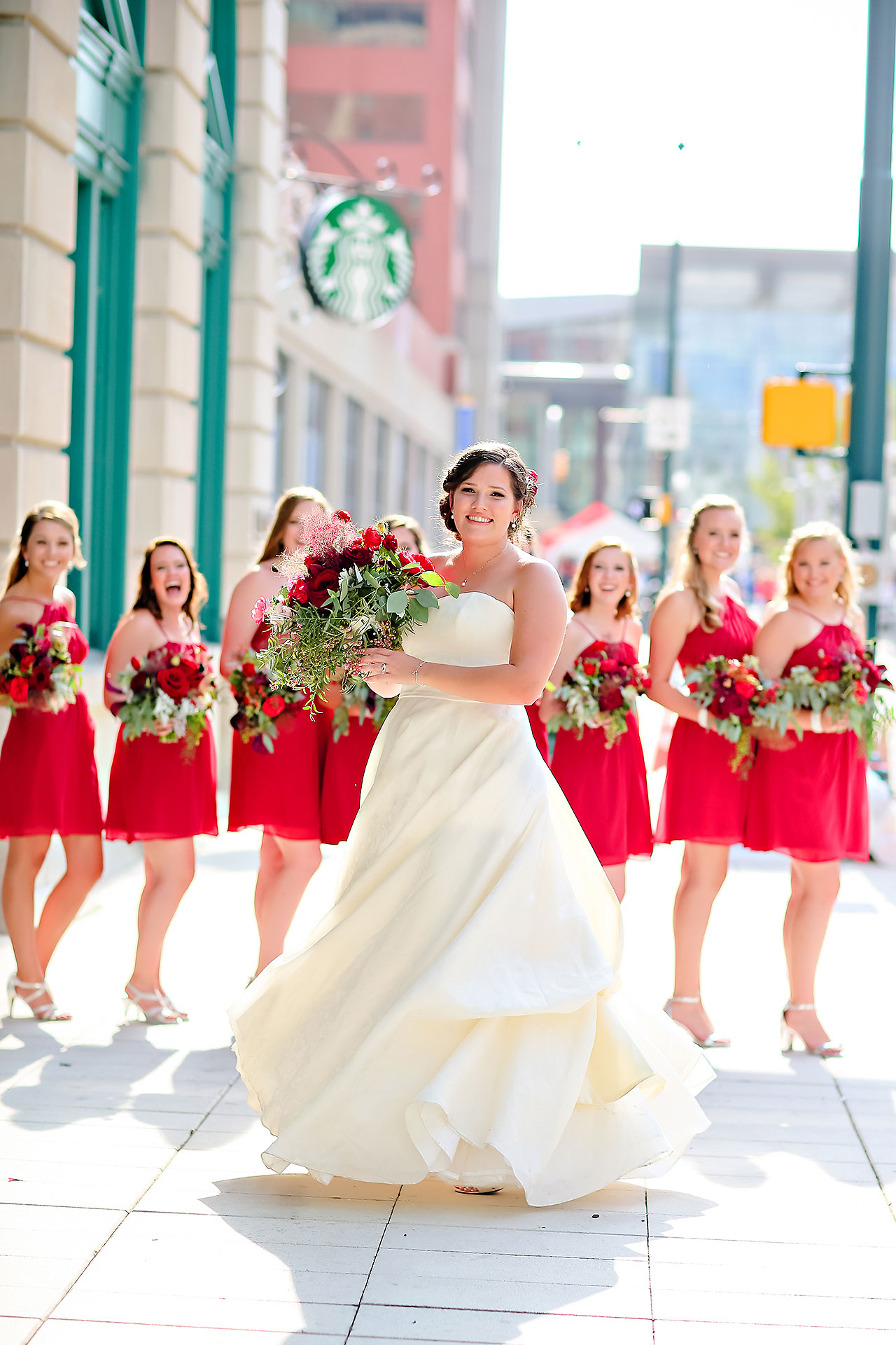 Diana Nick Crowne Plaza Indianapolis Wedding 157