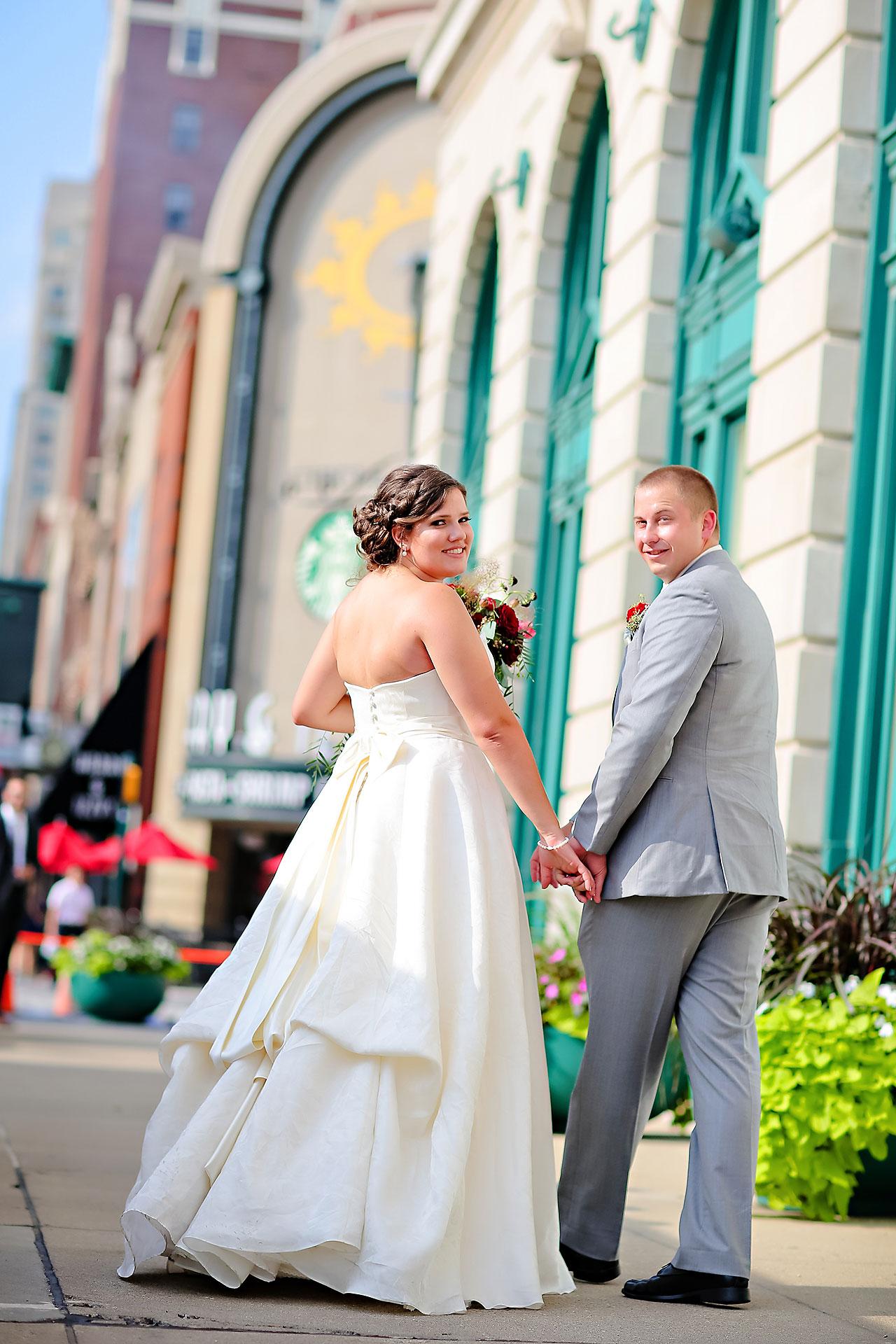 Diana Nick Crowne Plaza Indianapolis Wedding 158