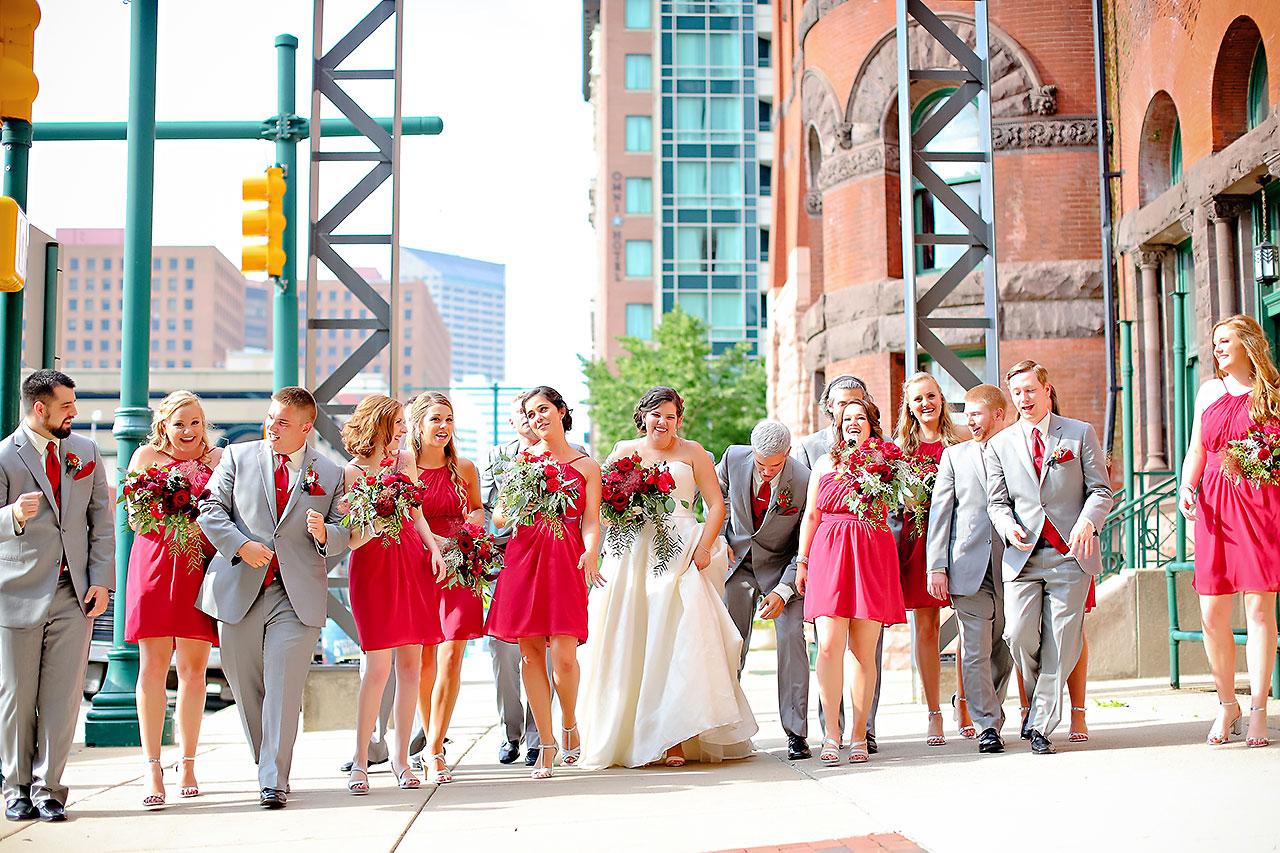 Diana Nick Crowne Plaza Indianapolis Wedding 155