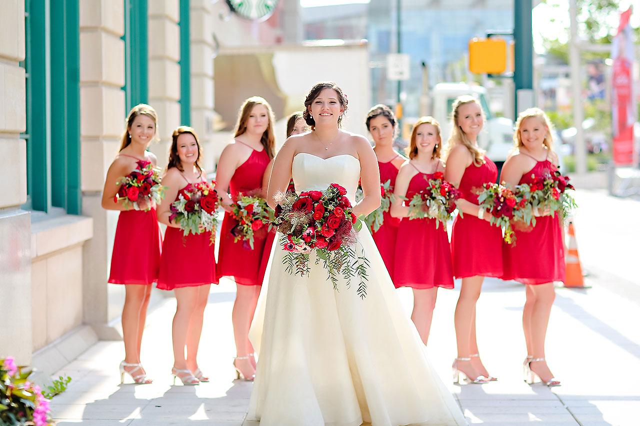 Diana Nick Crowne Plaza Indianapolis Wedding 152