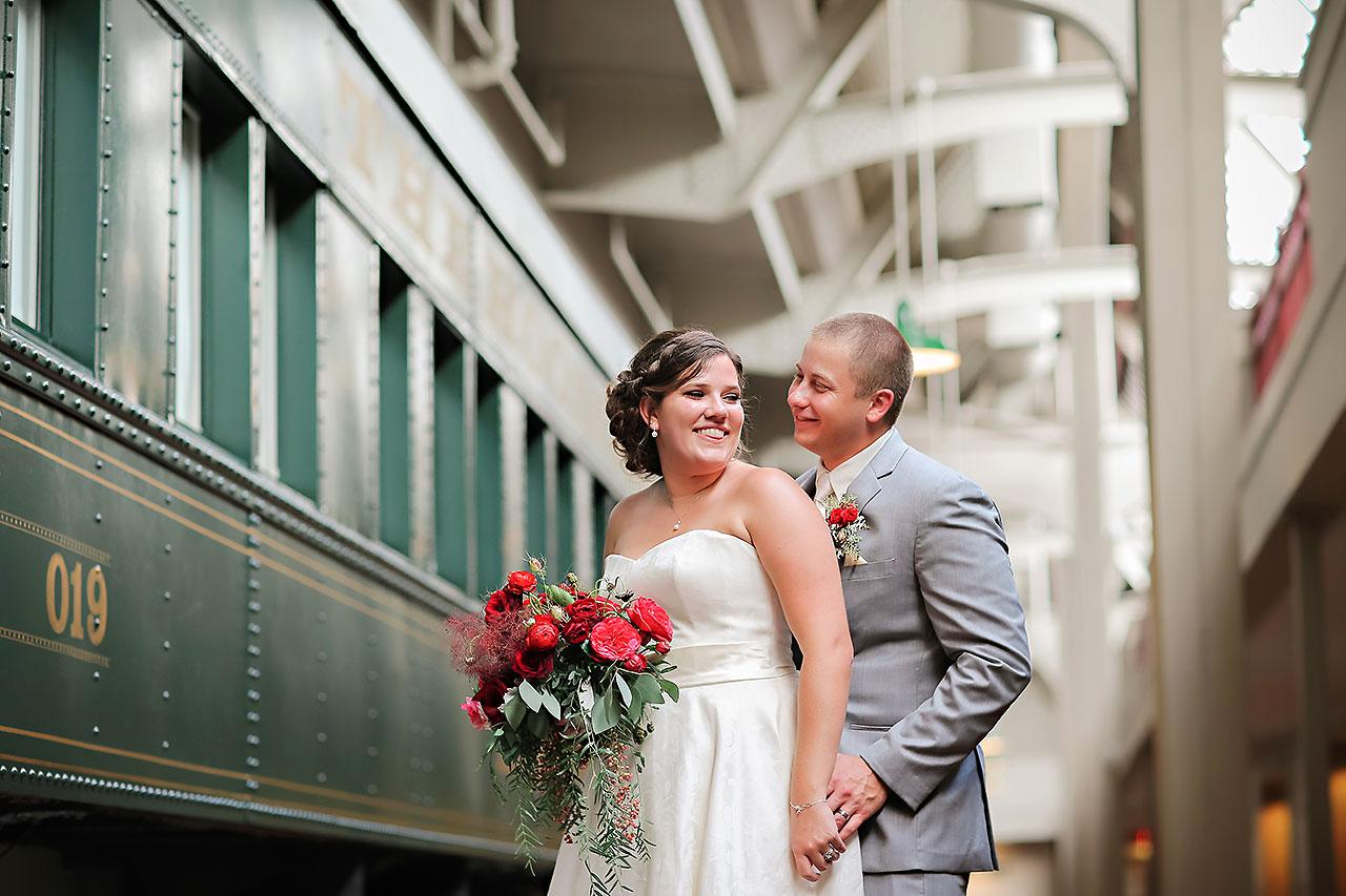 Diana Nick Crowne Plaza Indianapolis Wedding 153
