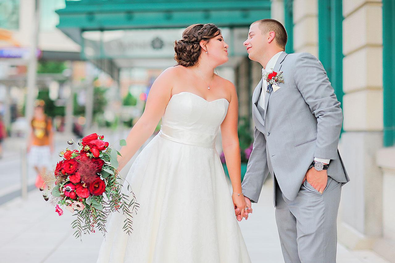 Diana Nick Crowne Plaza Indianapolis Wedding 150