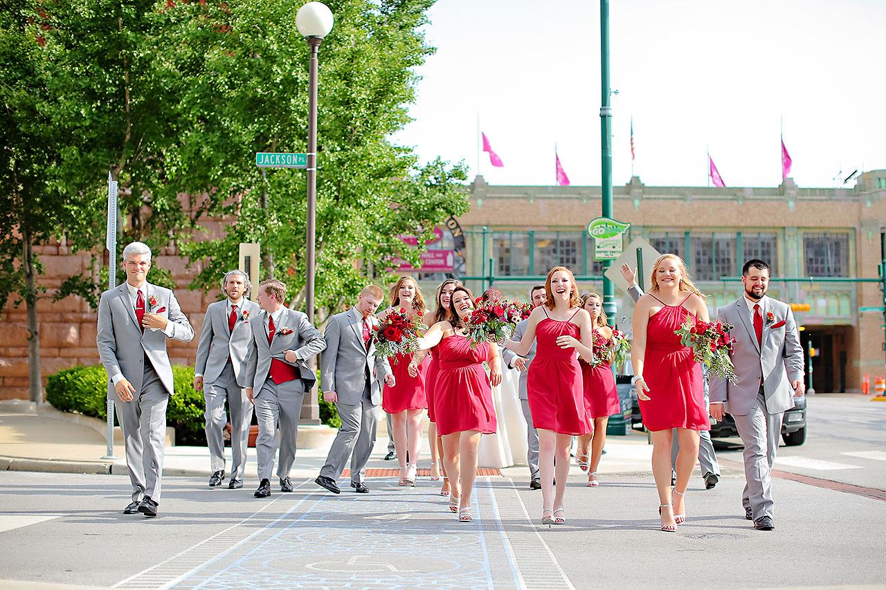 Diana Nick Crowne Plaza Indianapolis Wedding 149