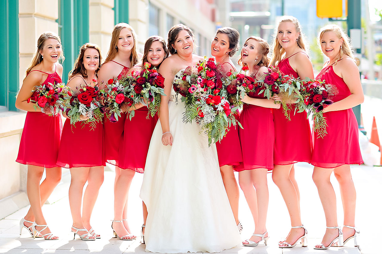 Diana Nick Crowne Plaza Indianapolis Wedding 146