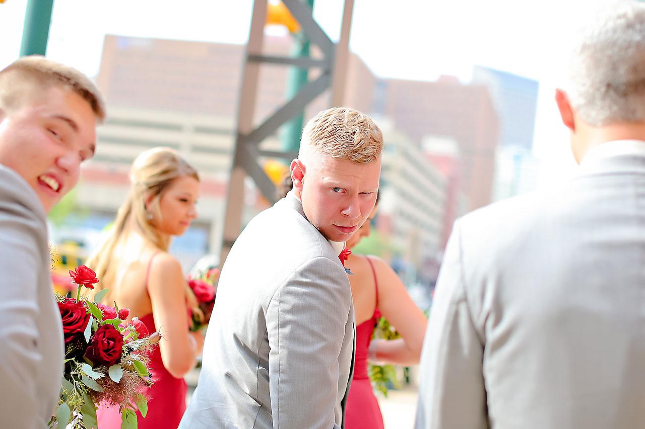 Diana Nick Crowne Plaza Indianapolis Wedding 147