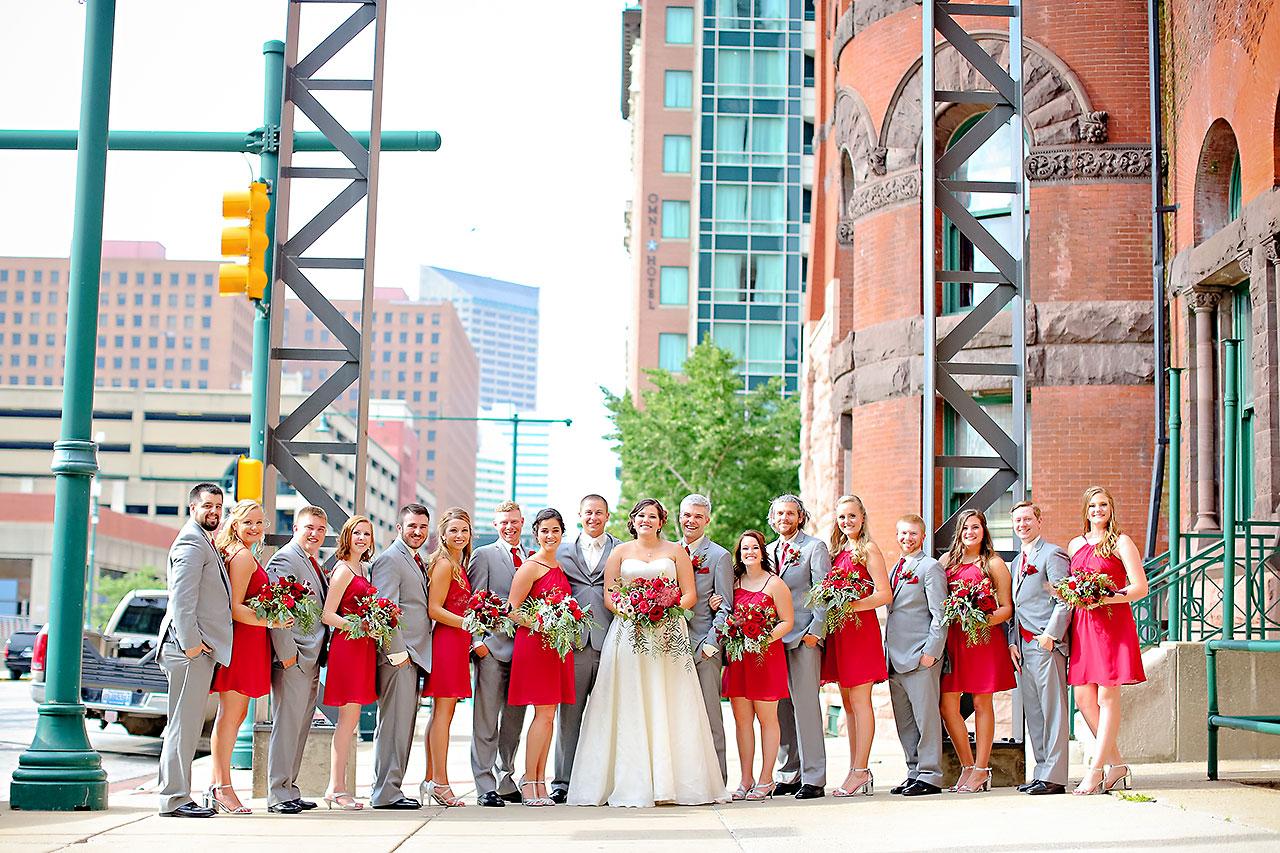 Diana Nick Crowne Plaza Indianapolis Wedding 145
