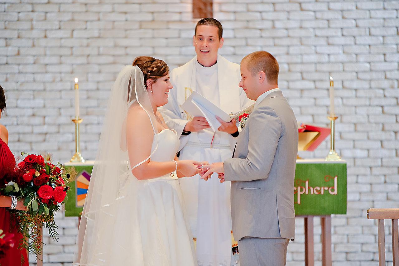 Diana Nick Crowne Plaza Indianapolis Wedding 138