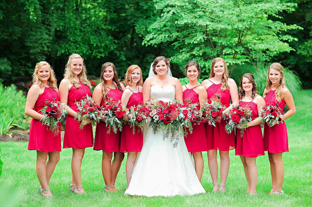 Diana Nick Crowne Plaza Indianapolis Wedding 127