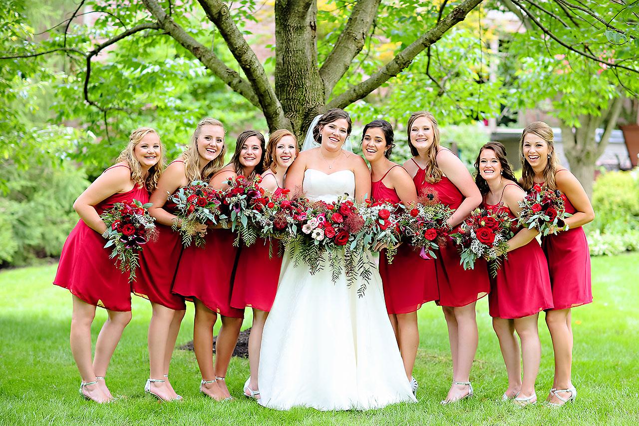 Diana Nick Crowne Plaza Indianapolis Wedding 116