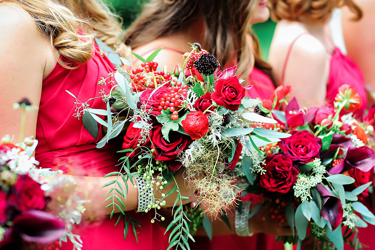 Diana Nick Crowne Plaza Indianapolis Wedding 117