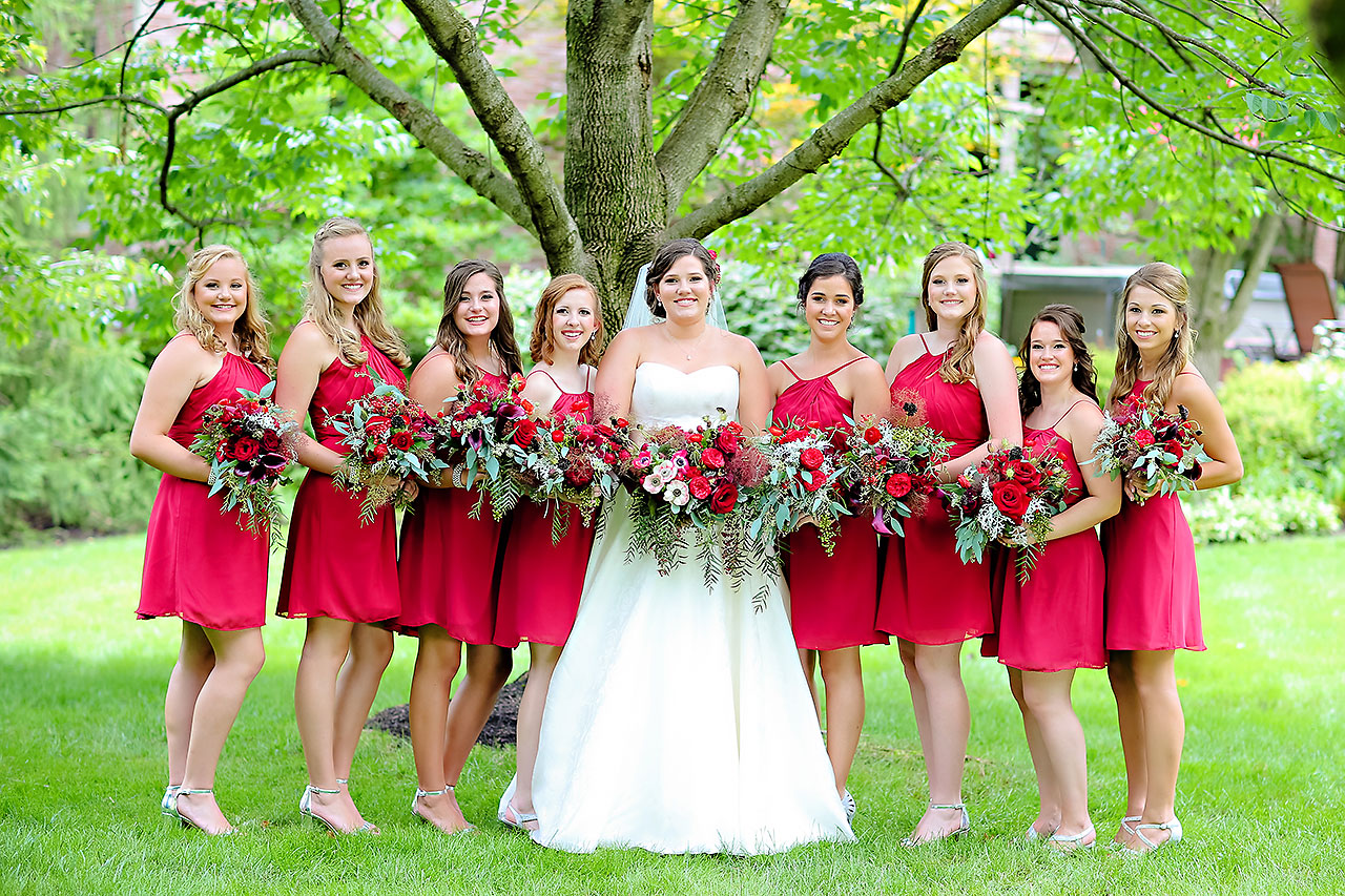 Diana Nick Crowne Plaza Indianapolis Wedding 105