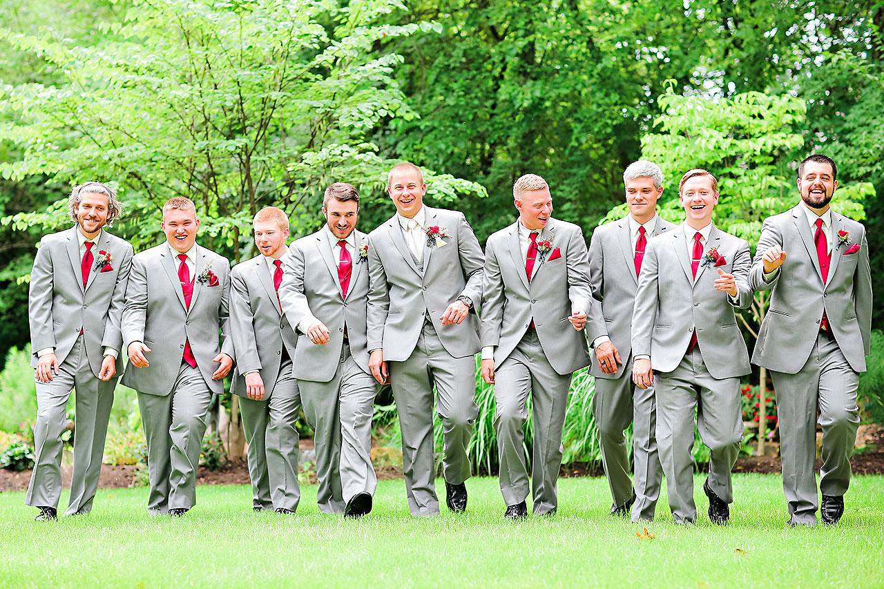 Diana Nick Crowne Plaza Indianapolis Wedding 107