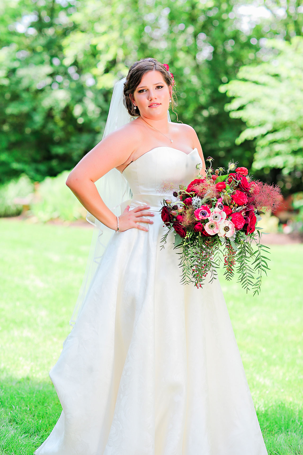 Diana Nick Crowne Plaza Indianapolis Wedding 094