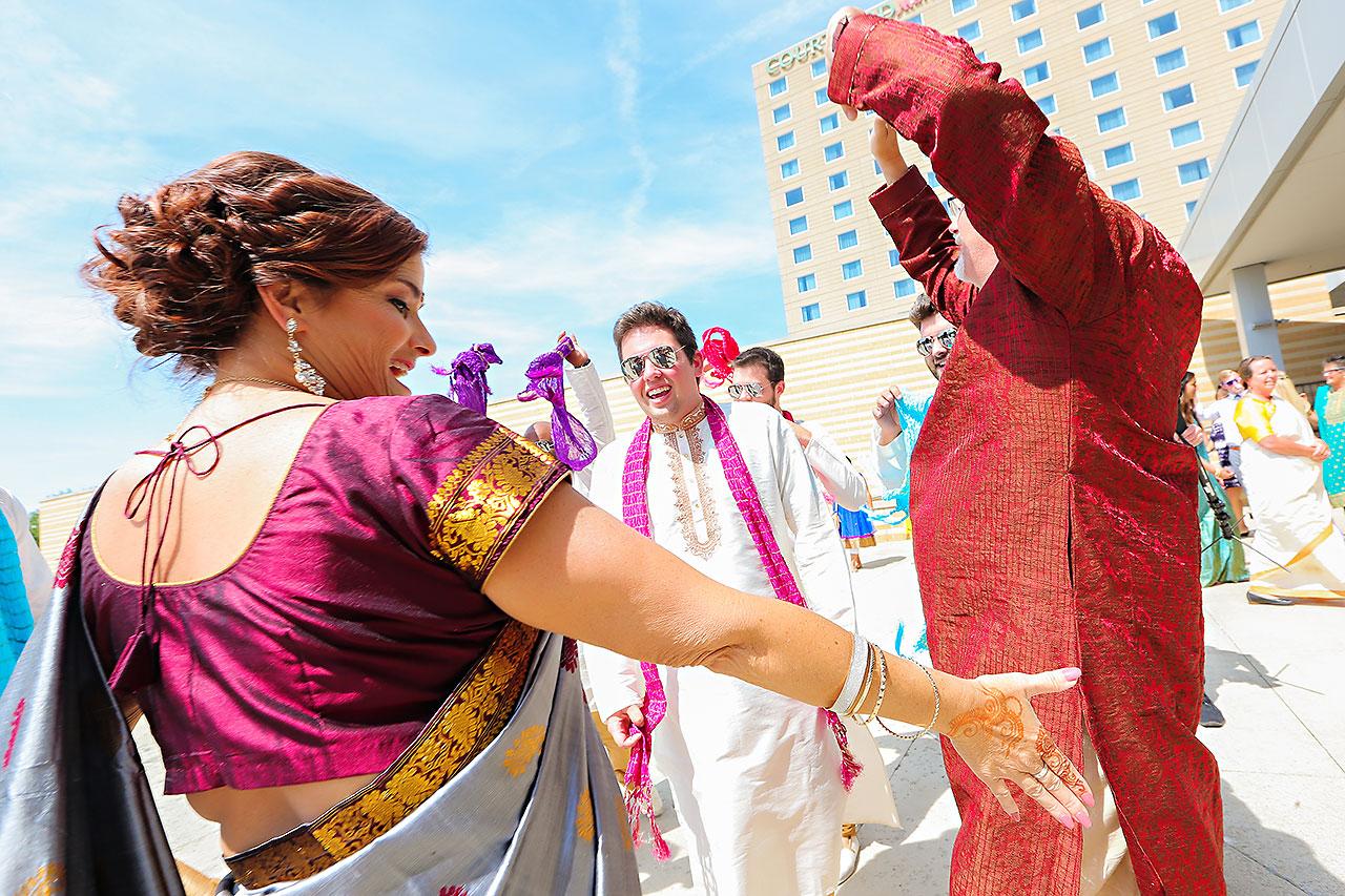 Rojita Chris Indianapolis Indian Wedding 147