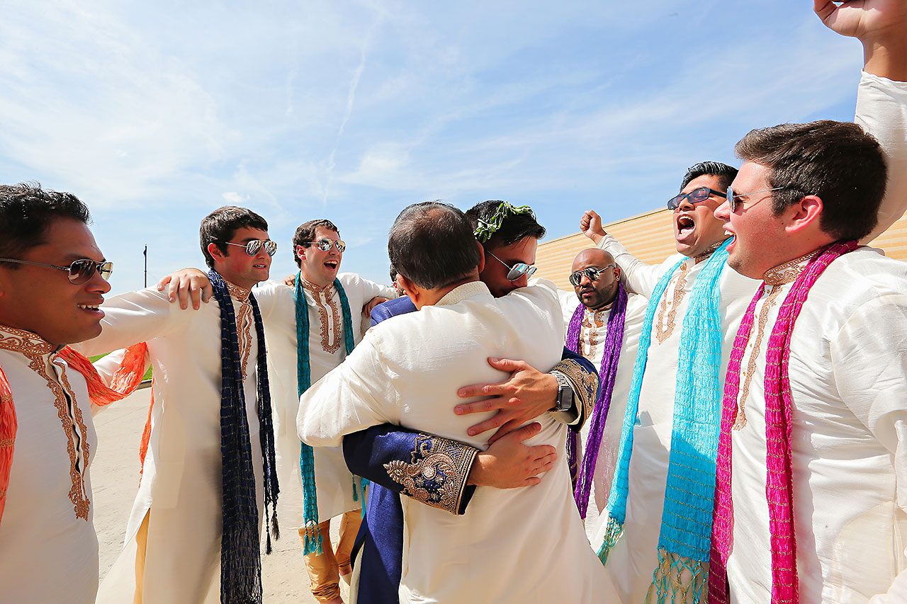 Rojita Chris Indianapolis Indian Wedding 152