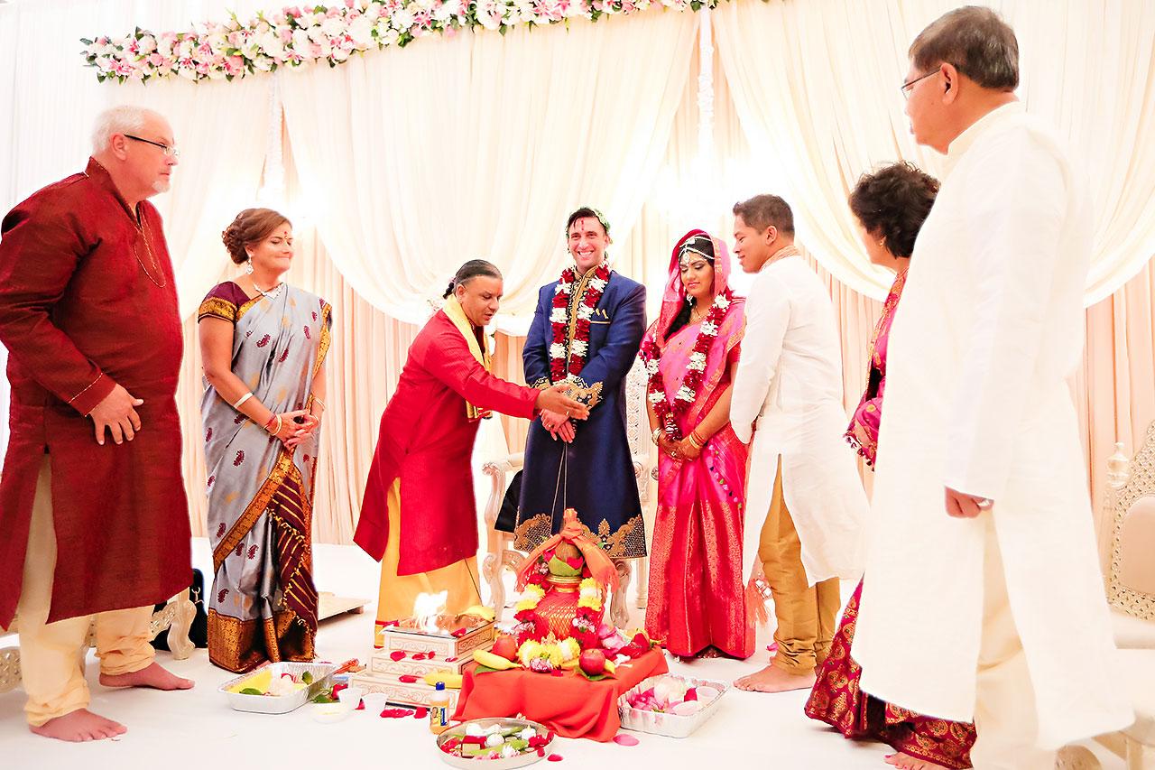 Rojita Chris Indianapolis Indian Wedding 256