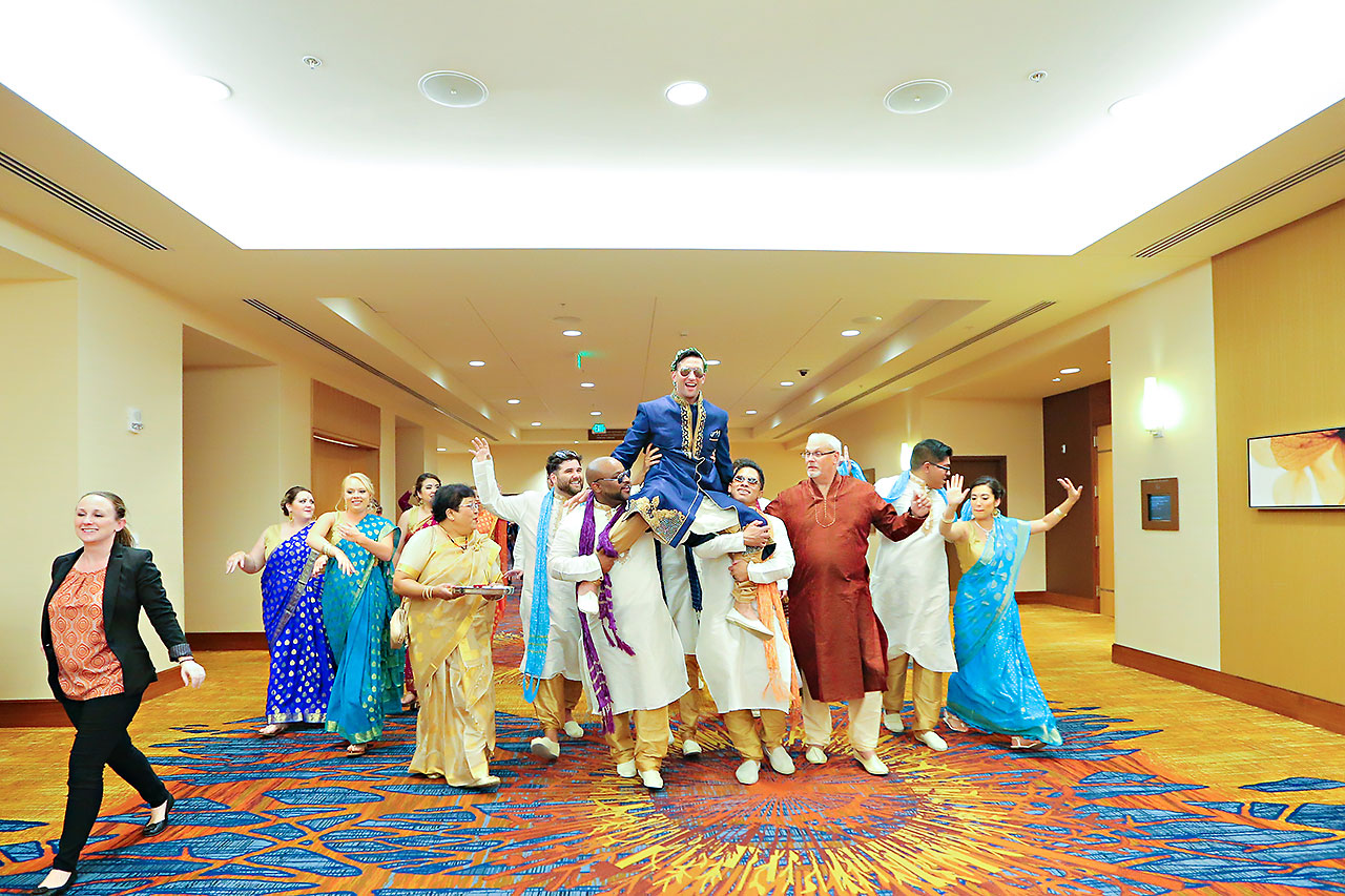 Rojita Chris Indianapolis Indian Wedding 176
