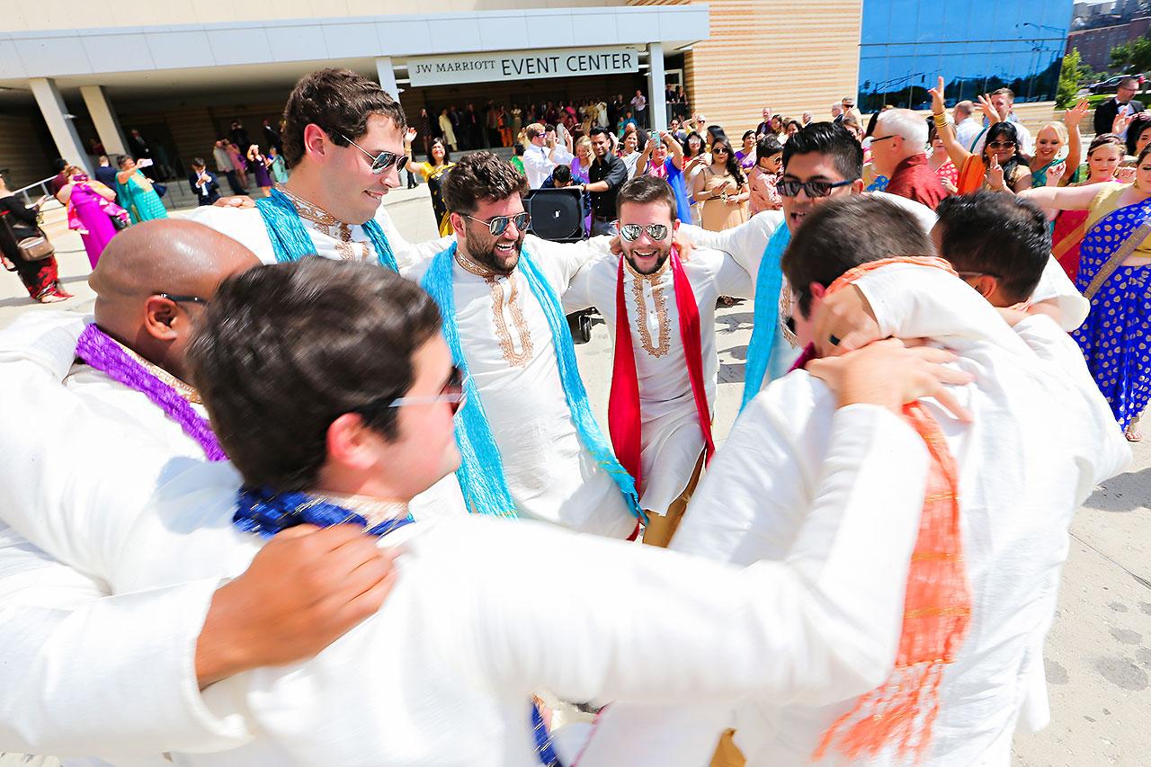 Rojita Chris Indianapolis Indian Wedding 145