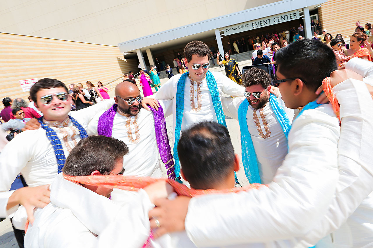 Rojita Chris Indianapolis Indian Wedding 143