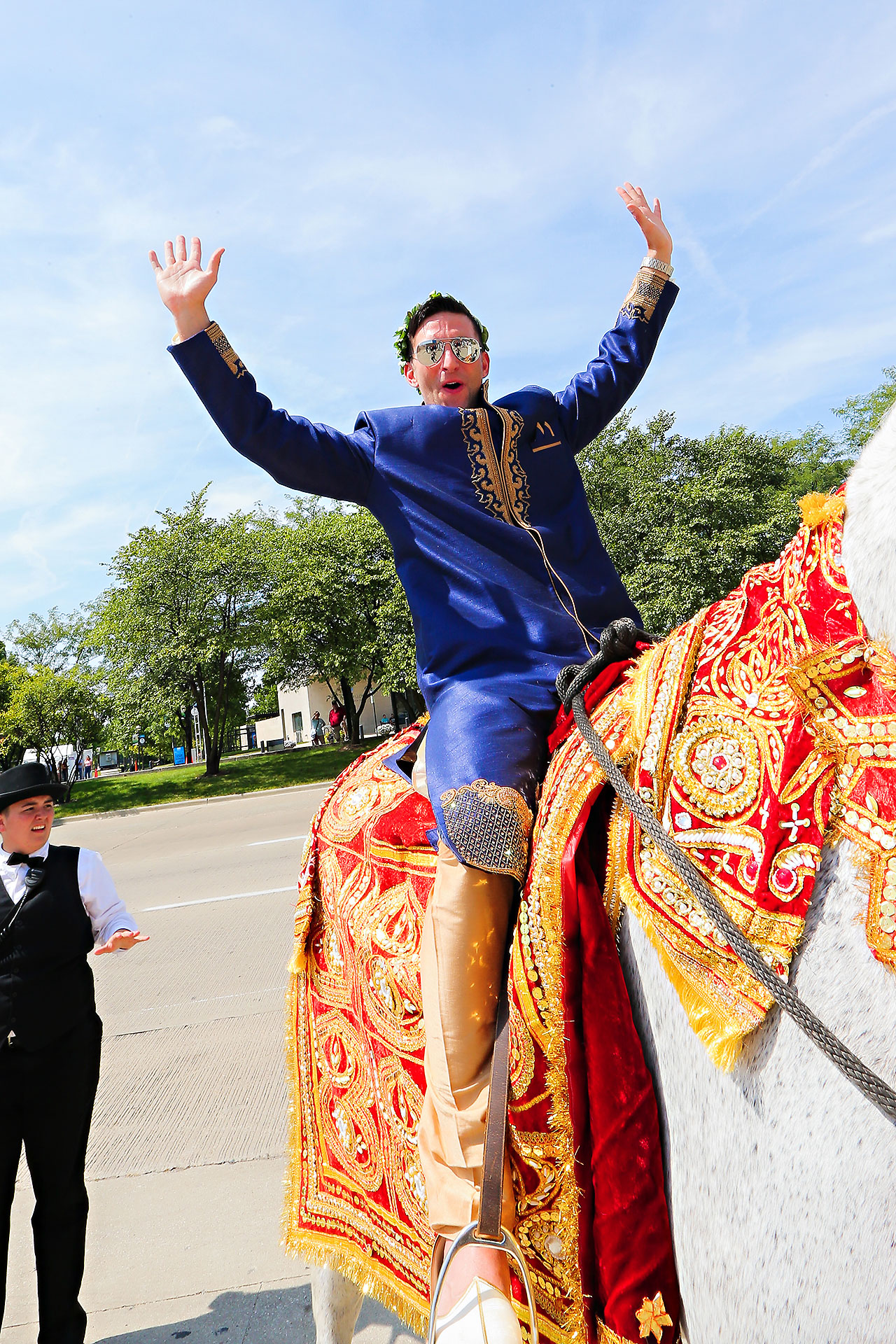 Rojita Chris Indianapolis Indian Wedding 126
