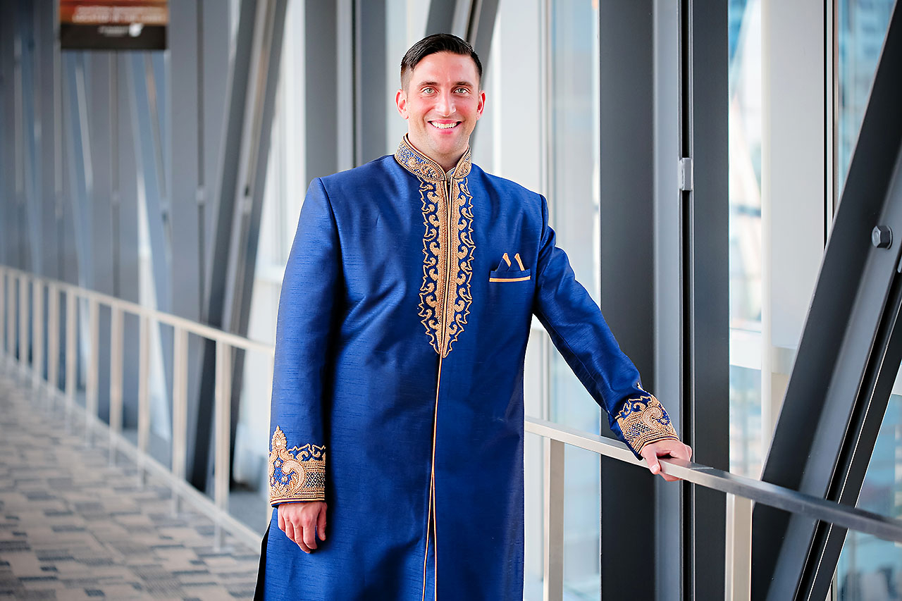 Rojita Chris Indianapolis Indian Wedding 122