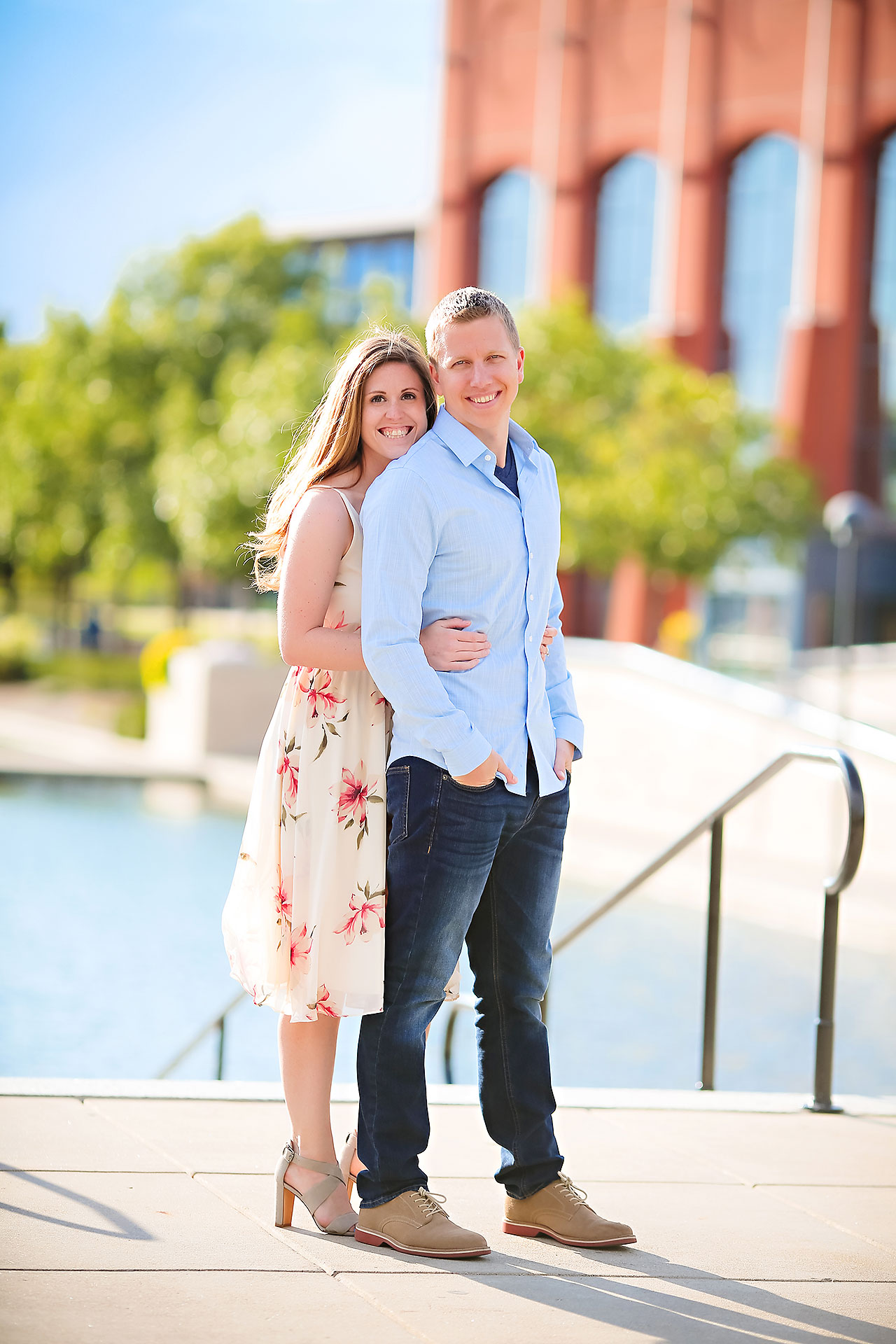 Chelsea Jeff Downtown Indy Engagement Session 206