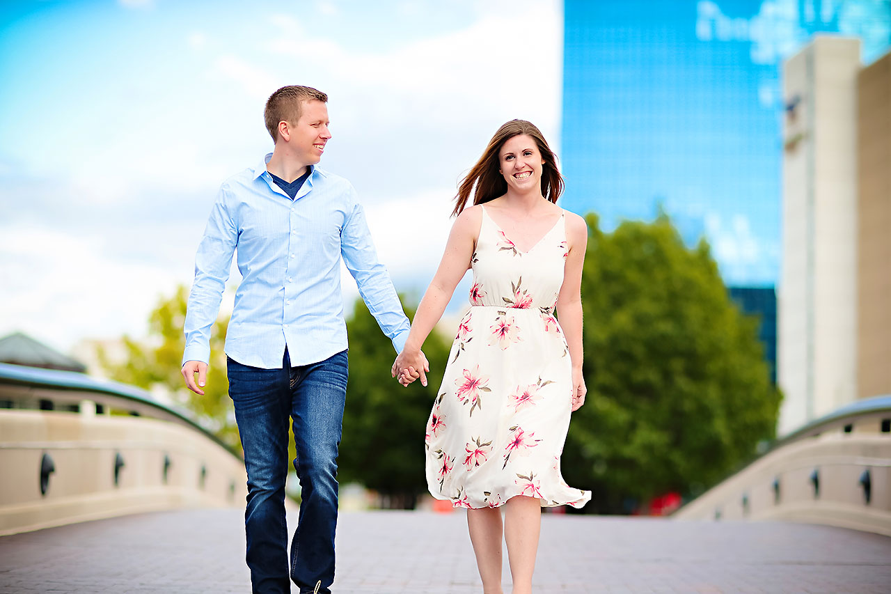 Chelsea Jeff Downtown Indy Engagement Session 195