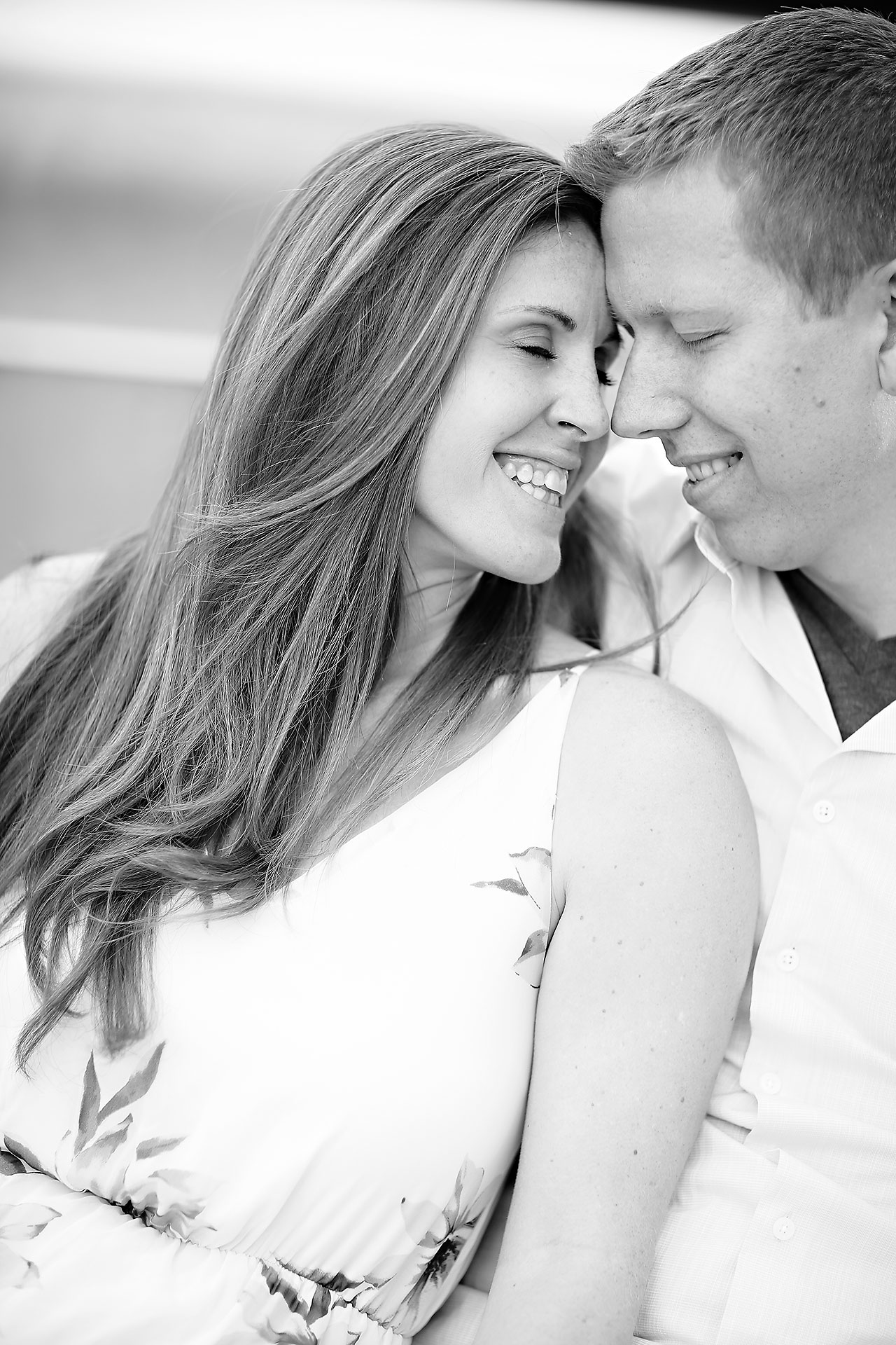 Chelsea Jeff Downtown Indy Engagement Session 183