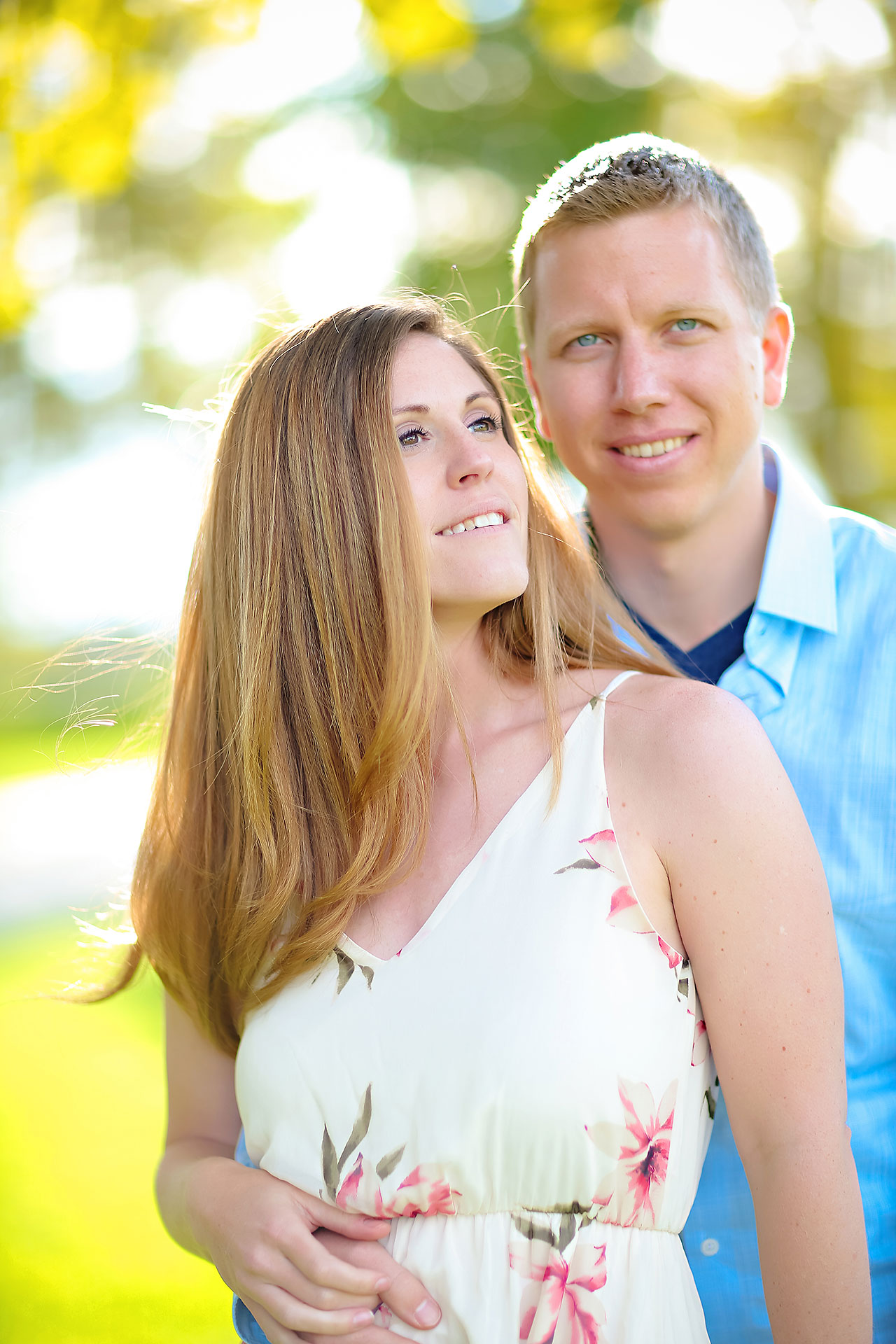 Chelsea Jeff Downtown Indy Engagement Session 181