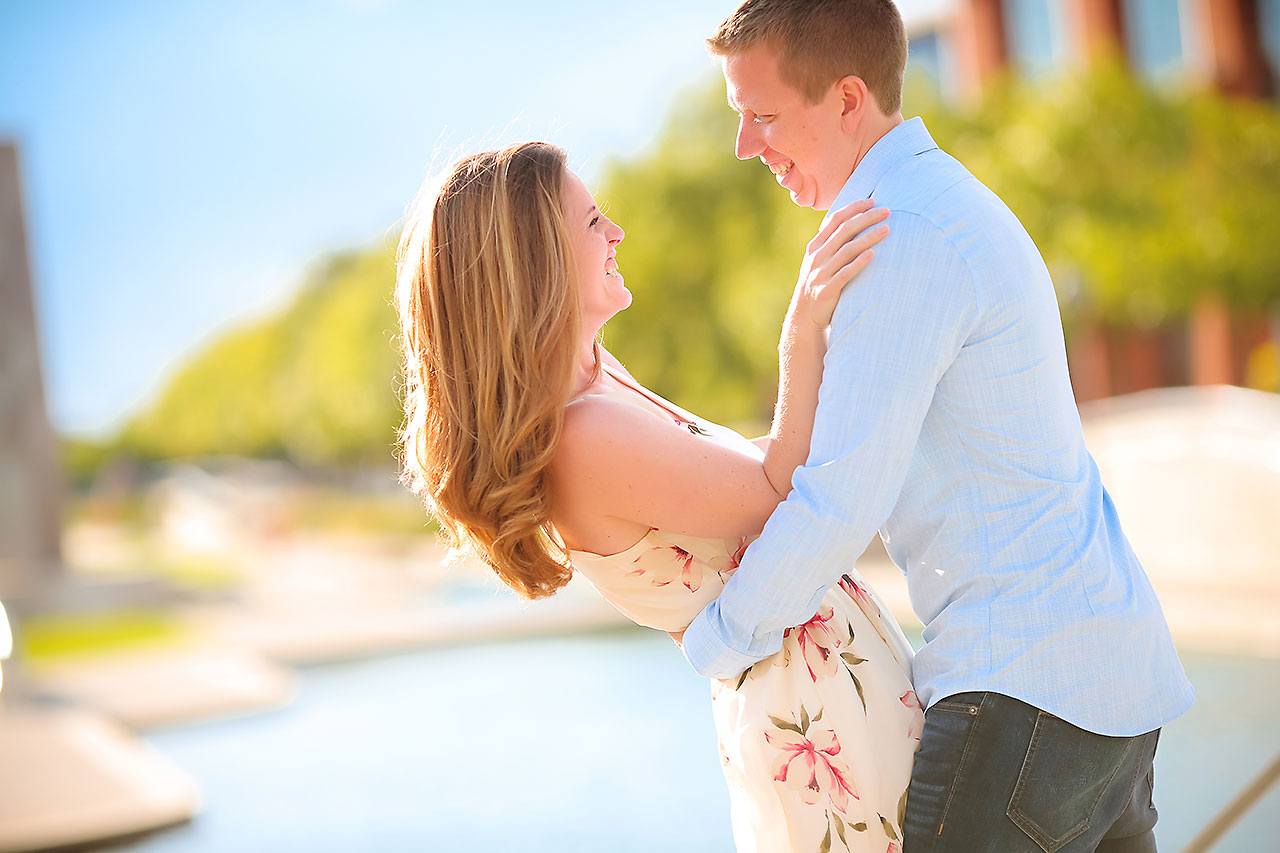 Chelsea Jeff Downtown Indy Engagement Session 179