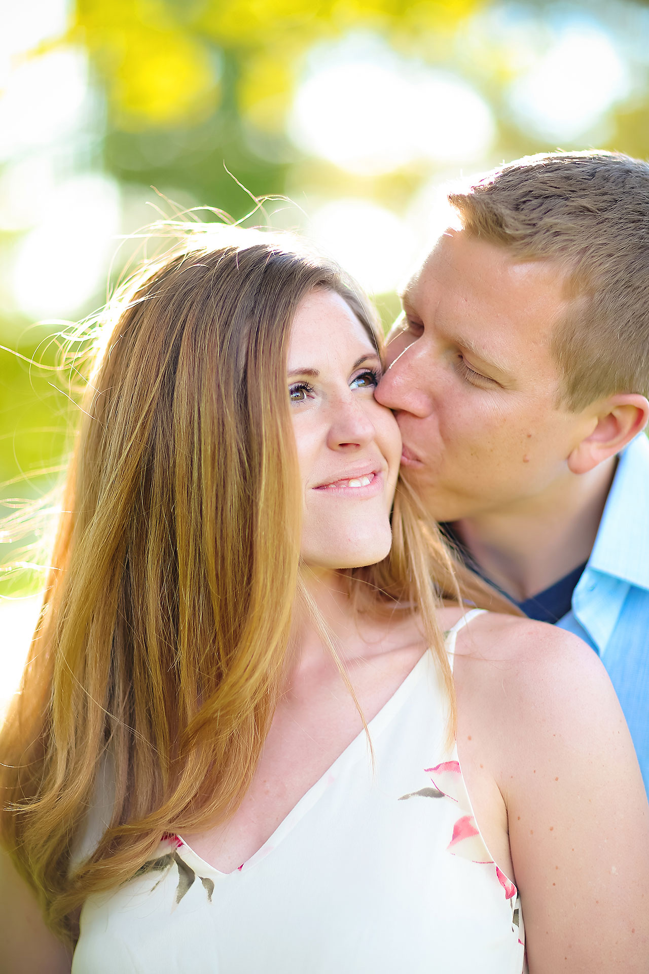 Chelsea Jeff Downtown Indy Engagement Session 173