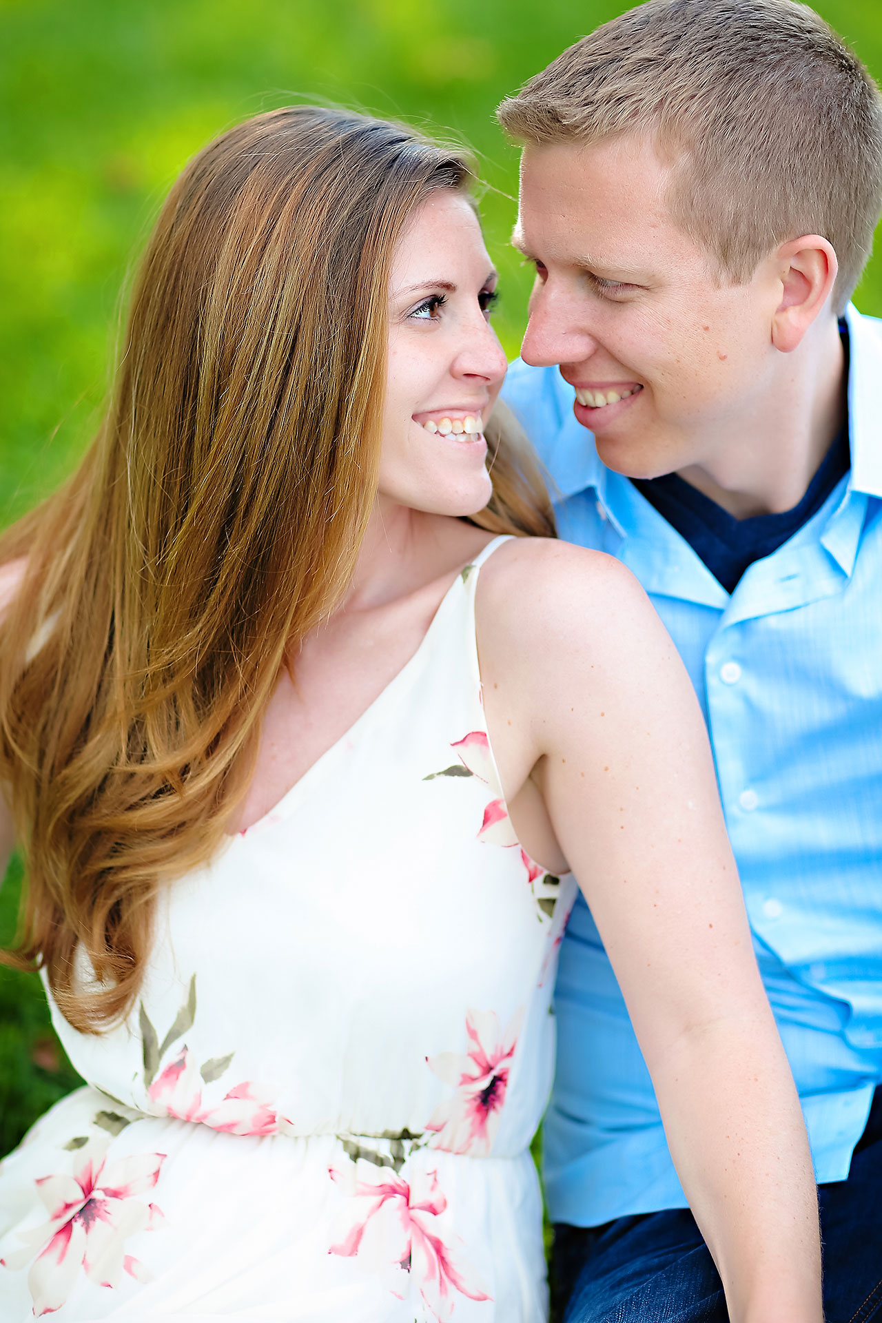Chelsea Jeff Downtown Indy Engagement Session 170