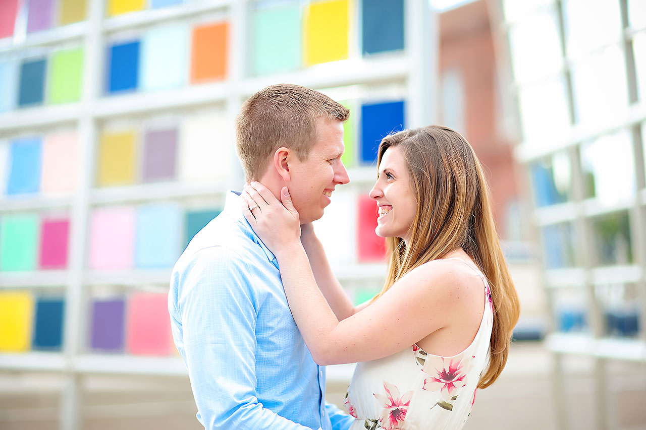 Chelsea Jeff Downtown Indy Engagement Session 161