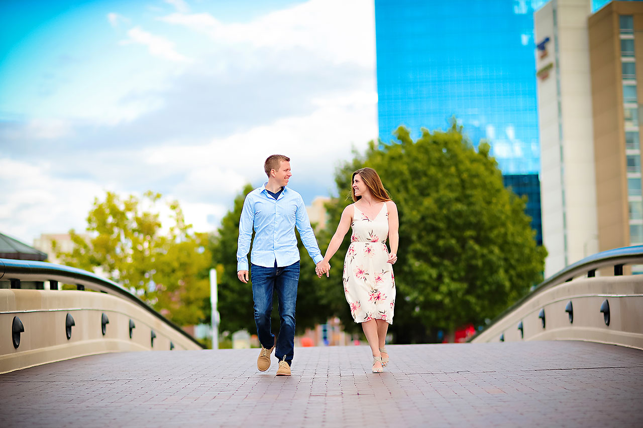 Chelsea Jeff Downtown Indy Engagement Session 157