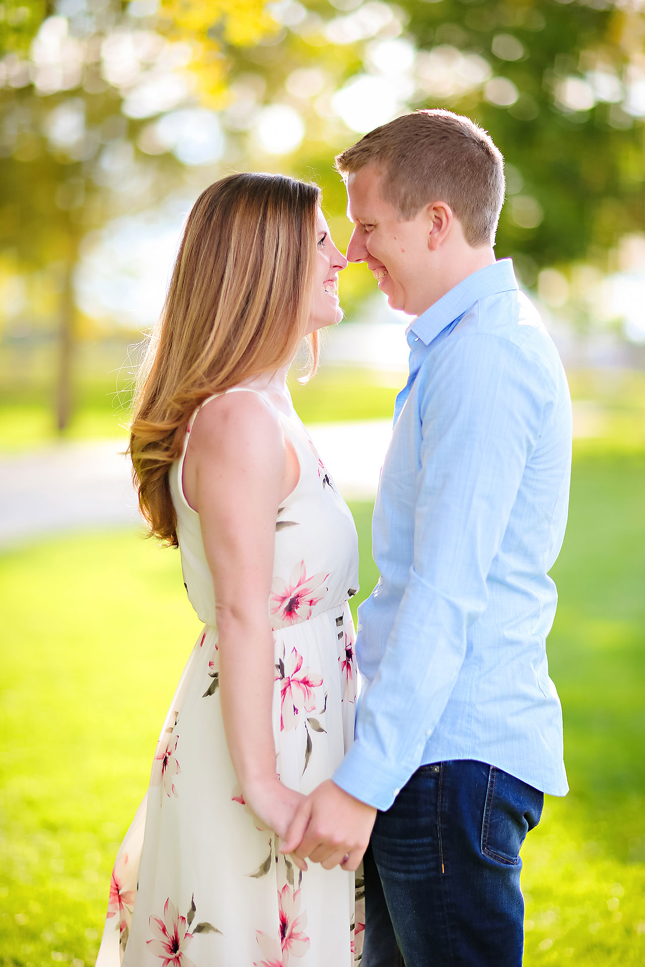 Chelsea Jeff Downtown Indy Engagement Session 153